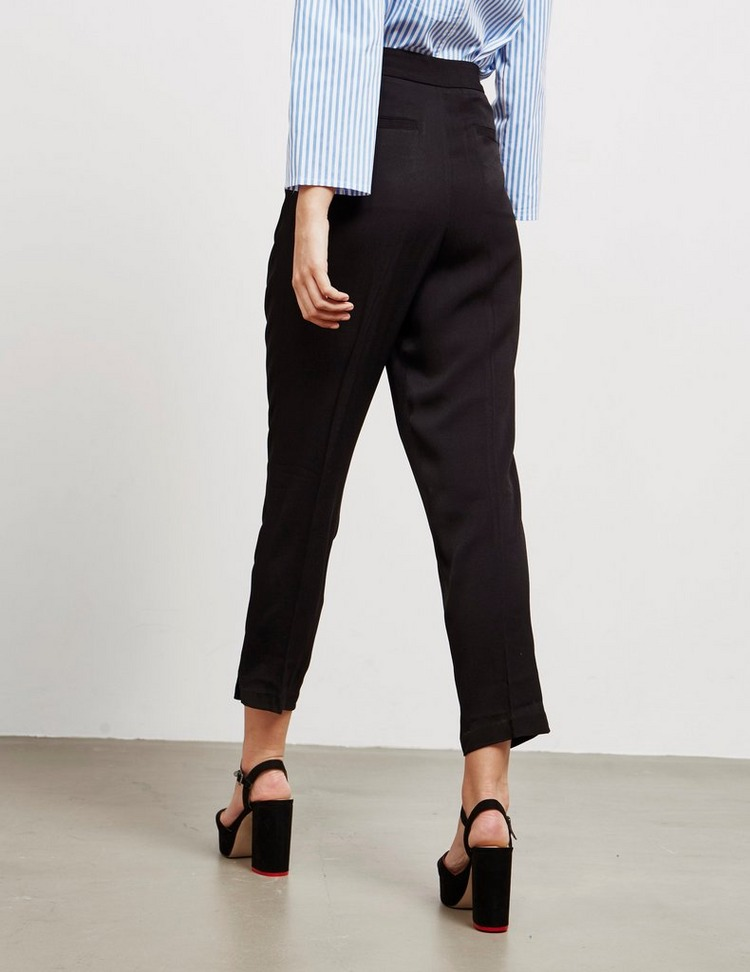 Armani Exchange Crepe Trousers