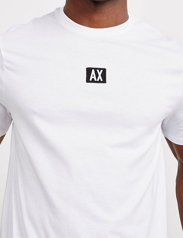 Armani Exchange Central Logo Short Sleeve T-Shirt