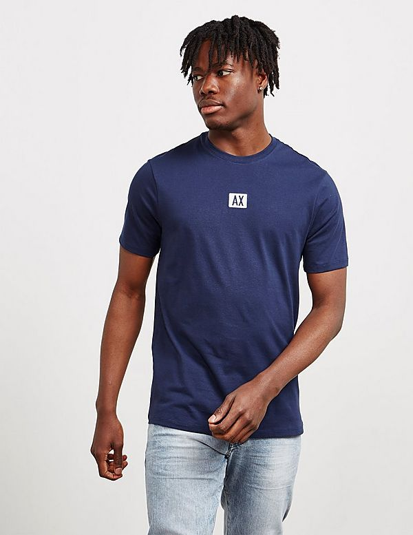 Armani Exchange Central Logo Short Sleeve T-Shirt