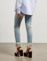 Armani Exchange J60 Frayed Jeans