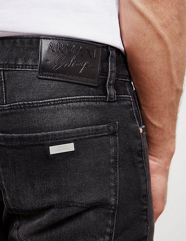 Armani Exchange J14 Skinny Washed Jeans
