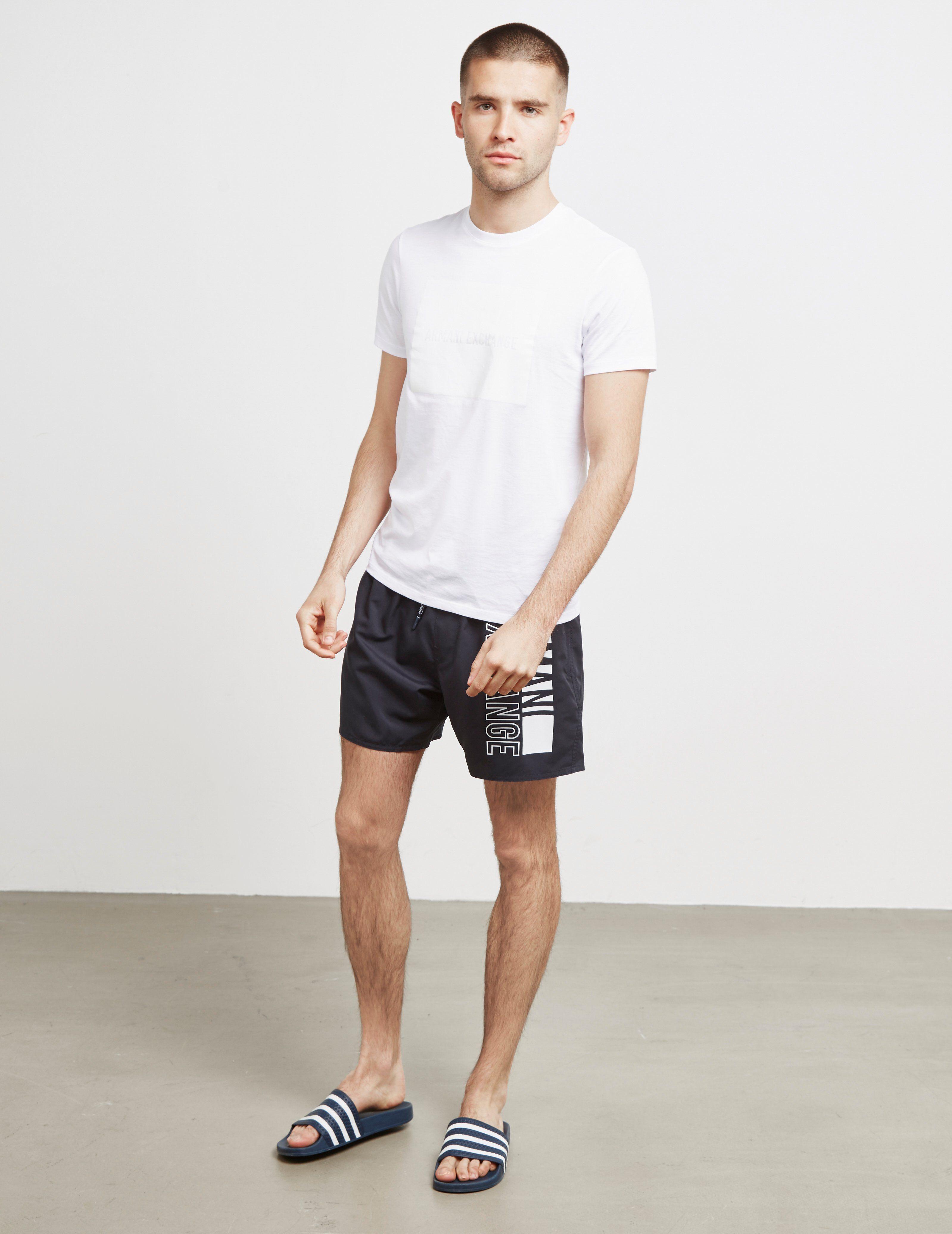 Armani Exchange Side Logo Swim Shorts