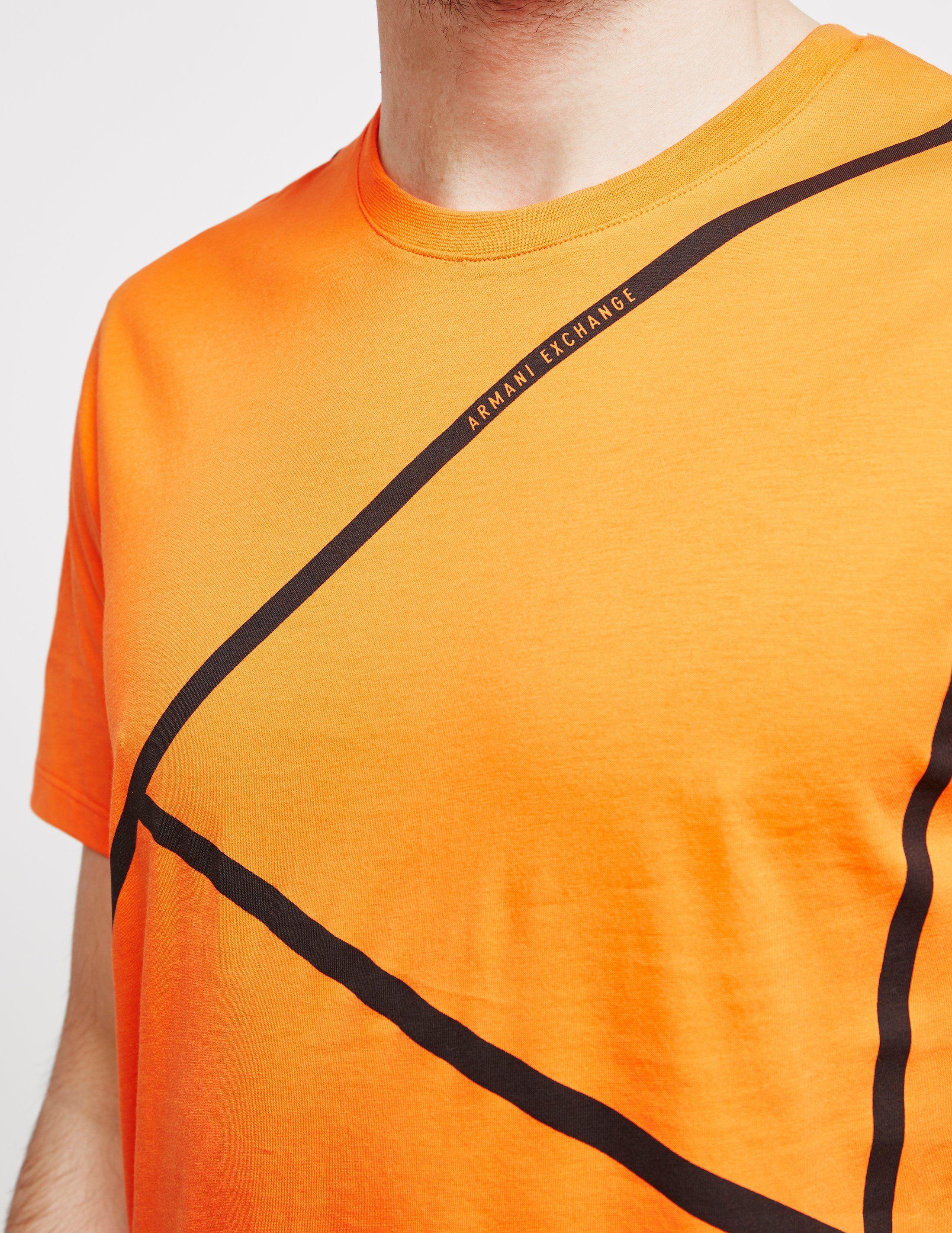 Armani Exchange Stripe Short Sleeve T-Shirt - Online Exclusive