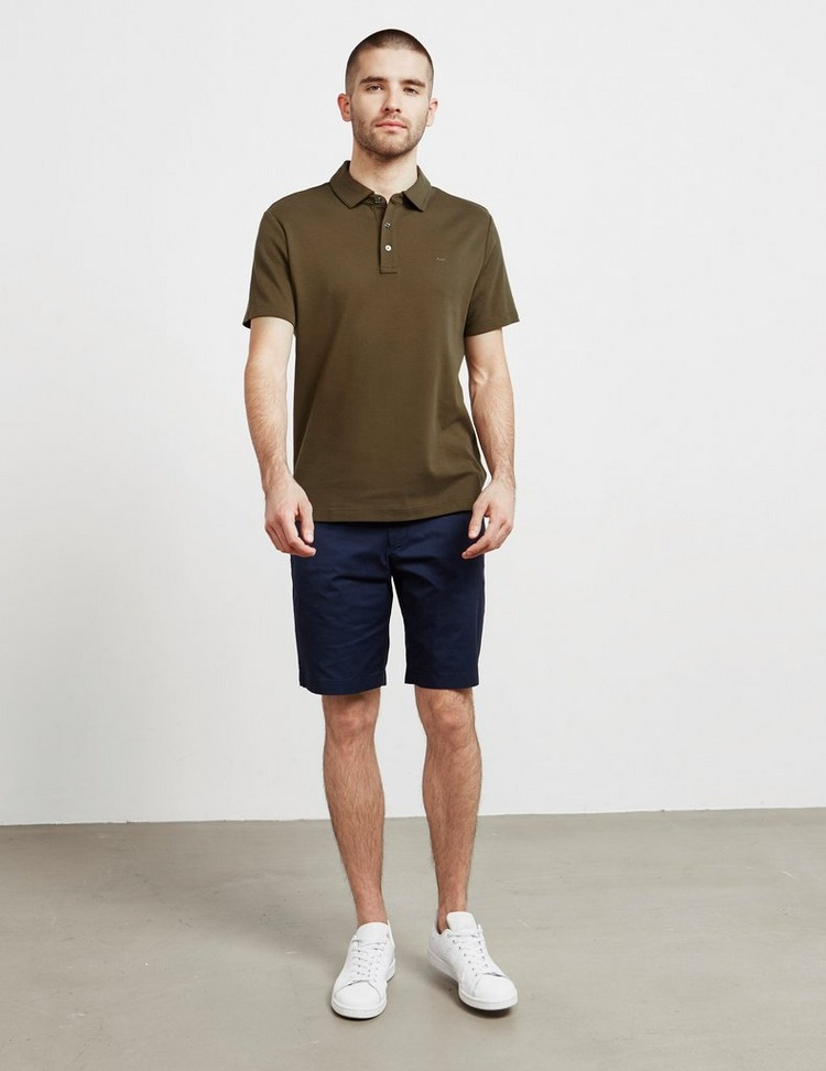 Michael Kors Sleek Short Sleeve Polo Shirt