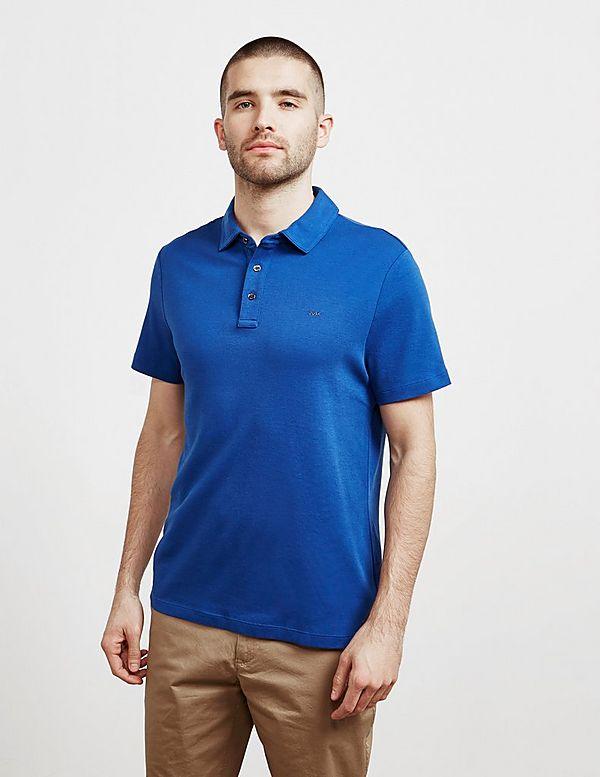 2113e31ec Michael Kors Sleek Short Sleeve Polo Shirt