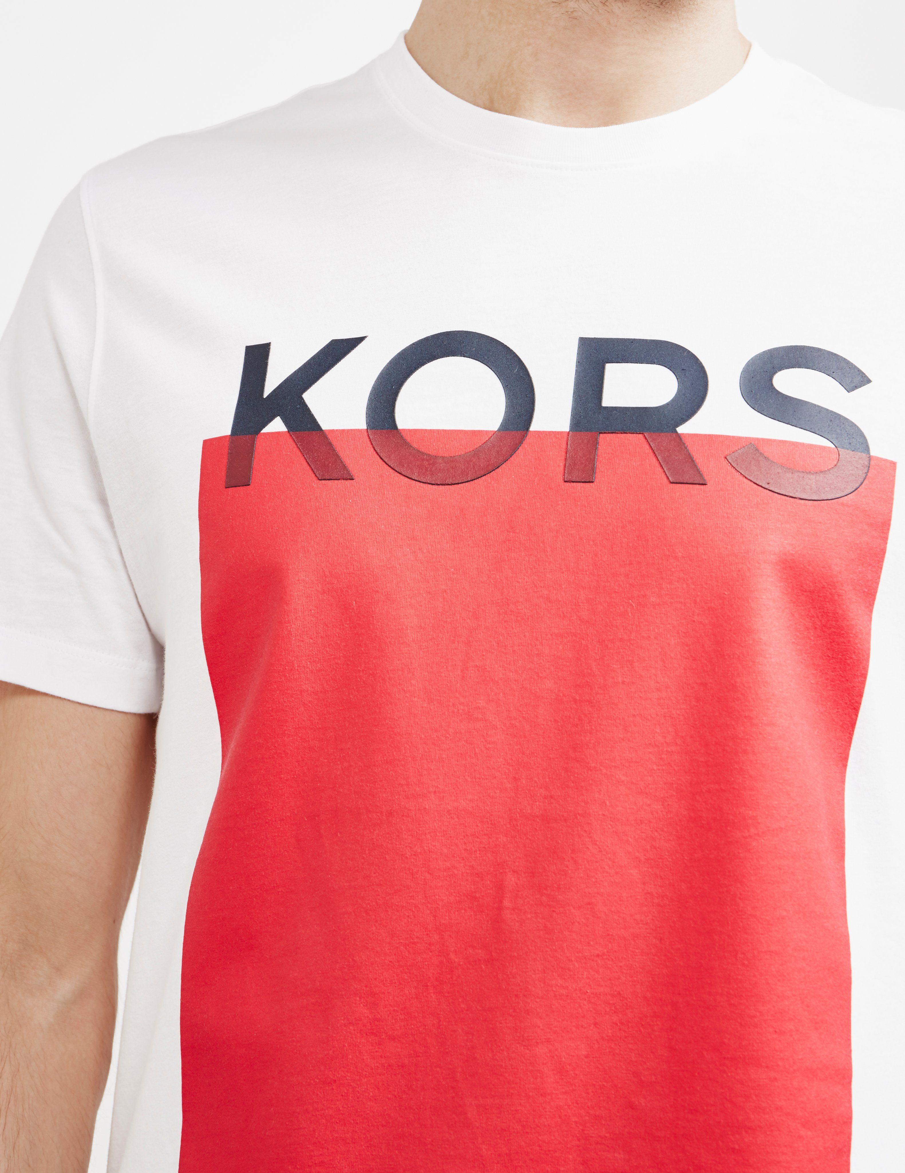 Michael Kors Block Short Sleeve T-Shirt