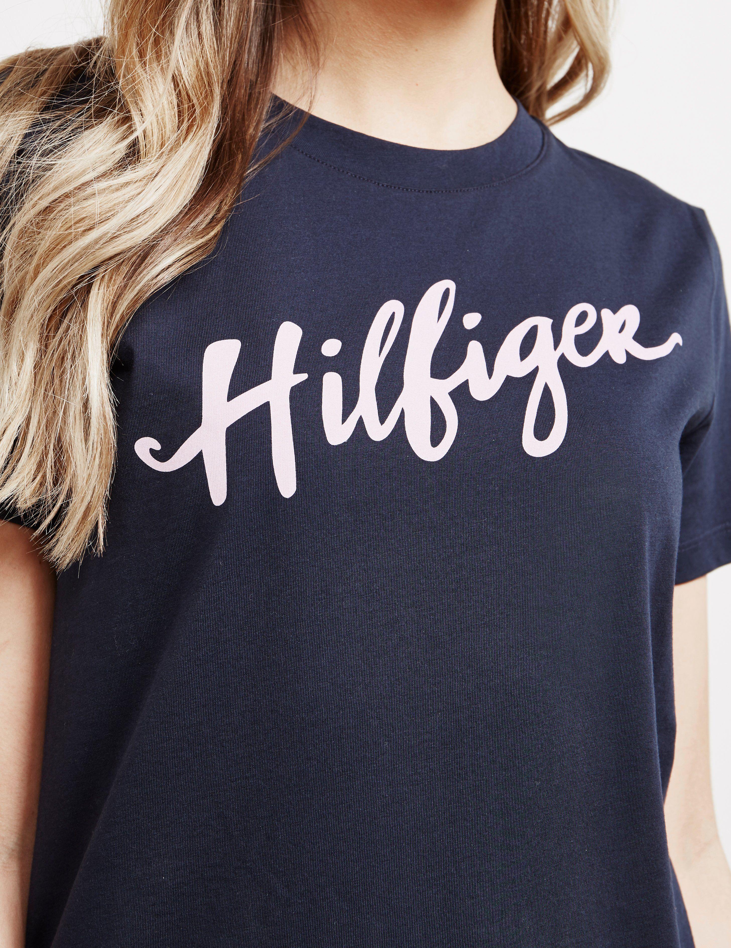 Tommy Hilfiger Viola Script Short Sleeve T-Shirt