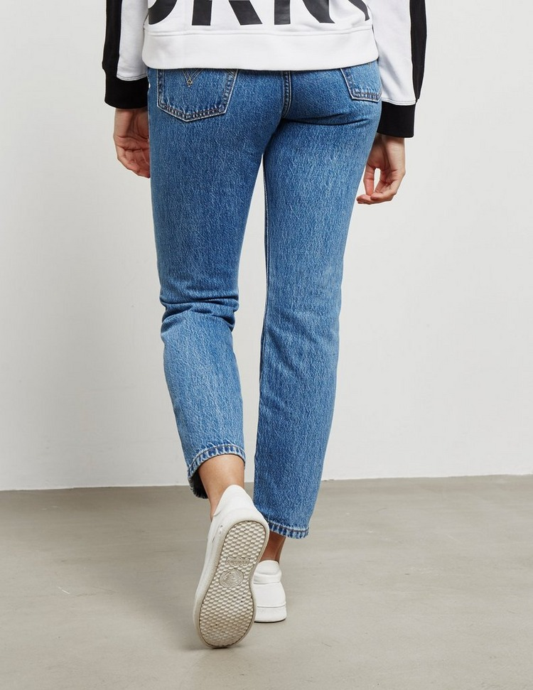 Levis 501 Cropped Jeans