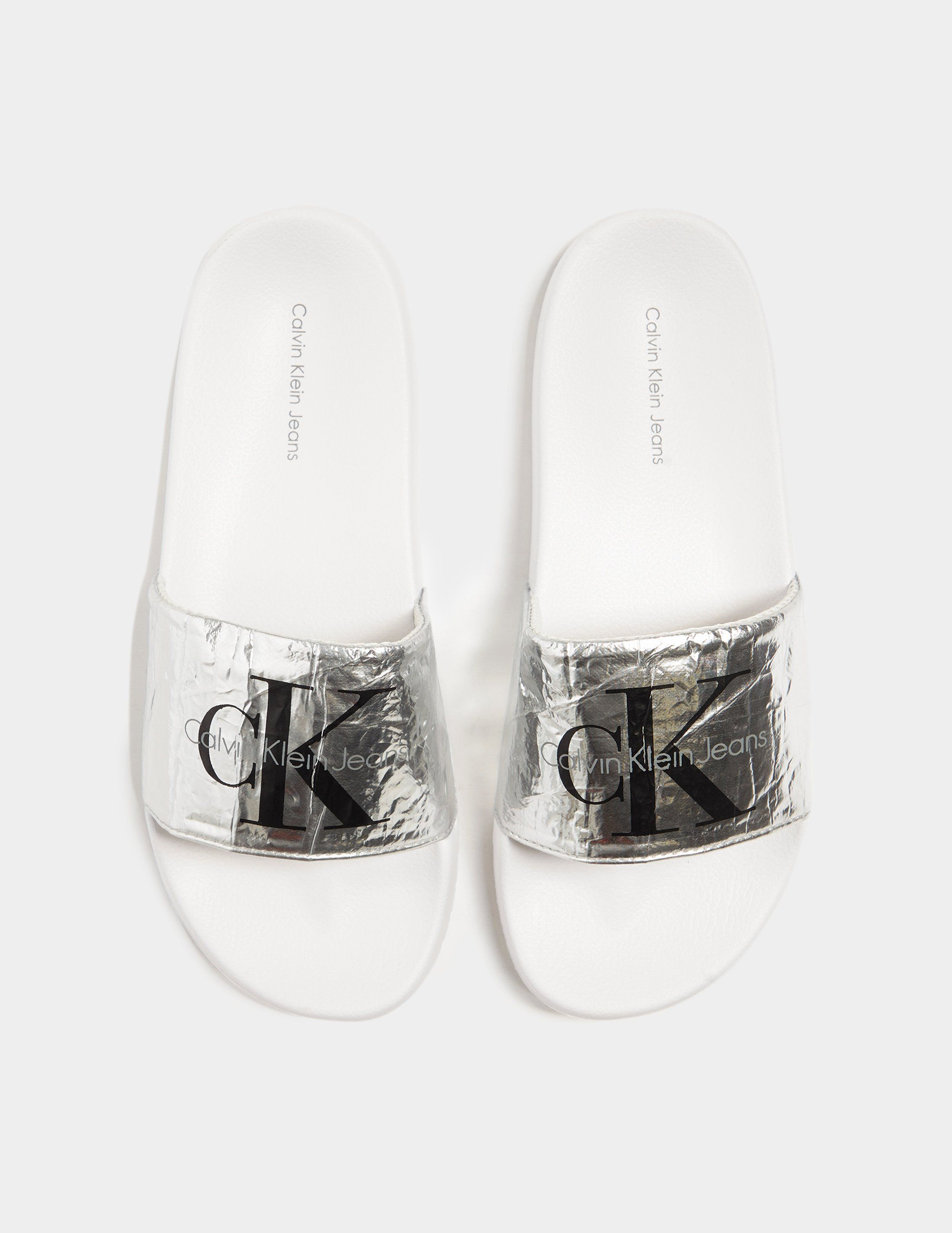 Calvin Klein Jeans Chantal Crinkle Slides