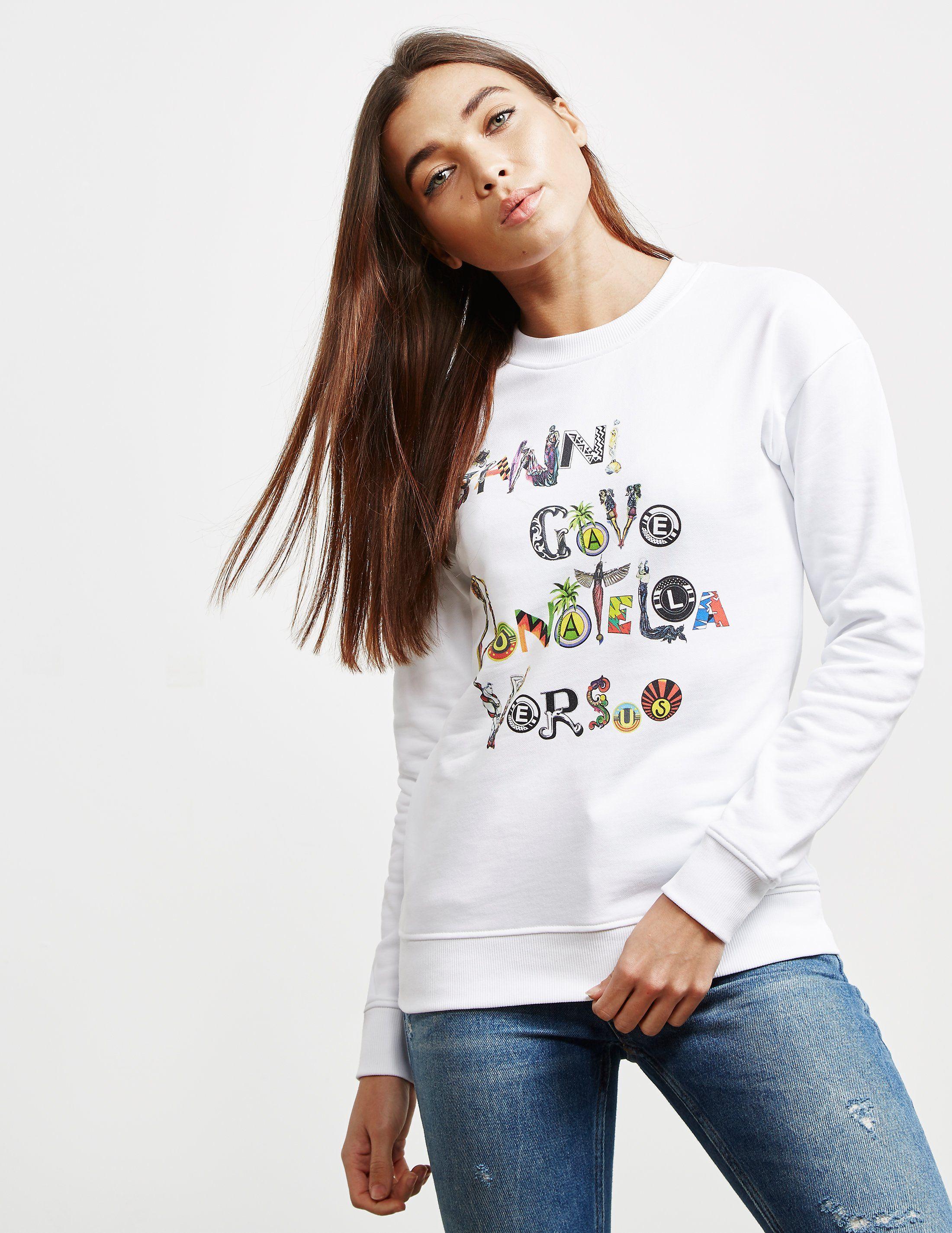 Versus Versace Graphic Logo Sweatshirt