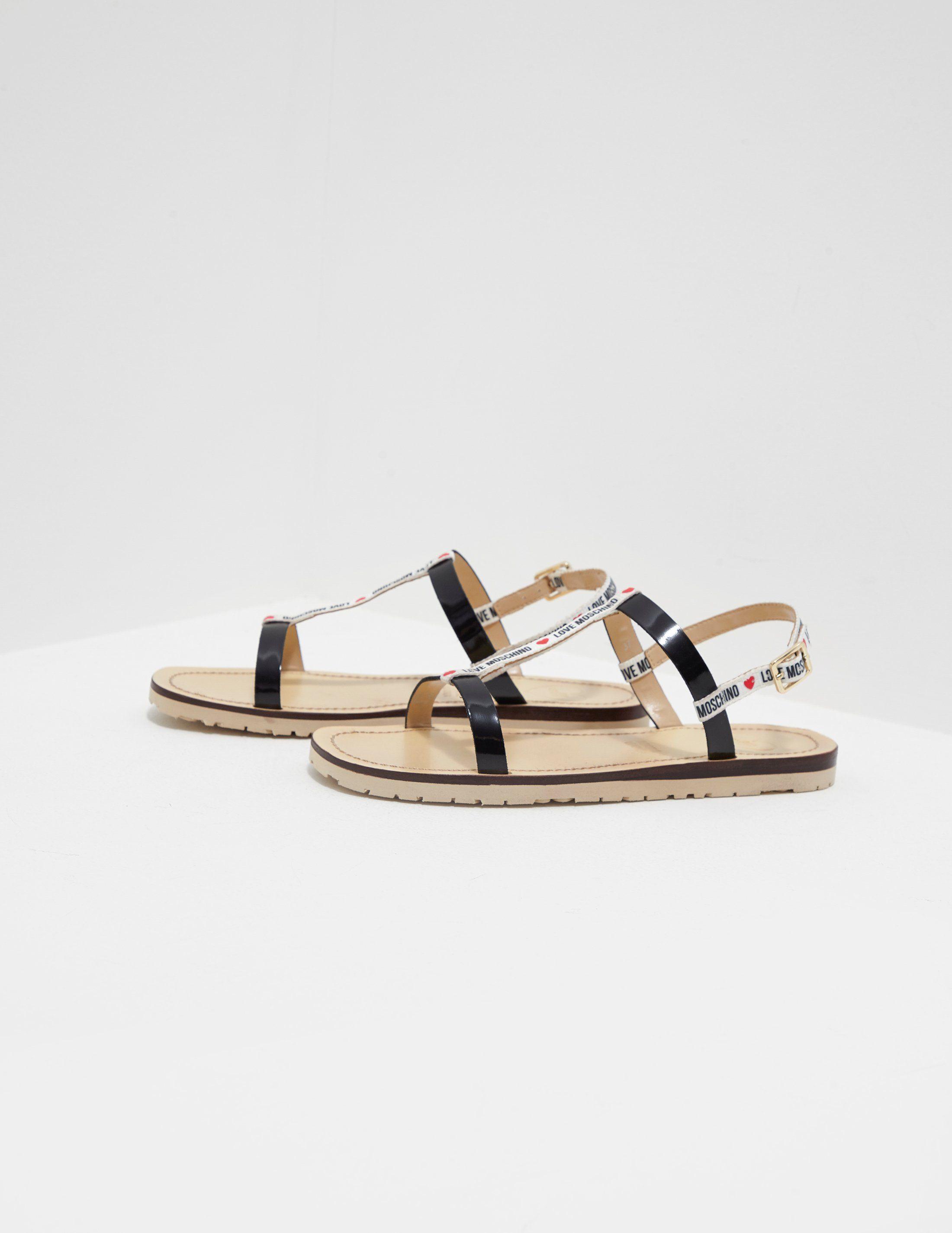 Love Moschino Open Sandals