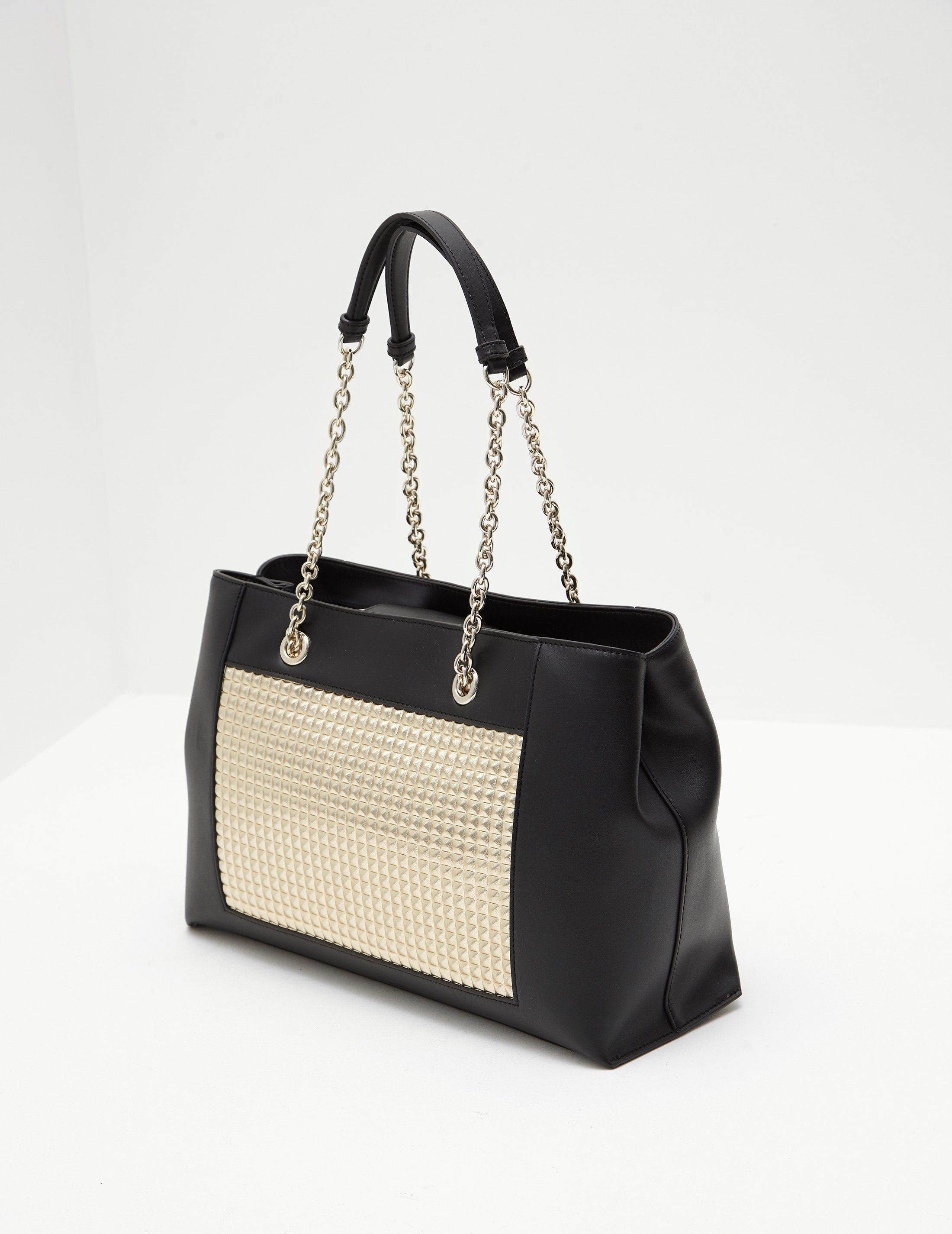 Love Moschino Soft Stud Shopper Bag