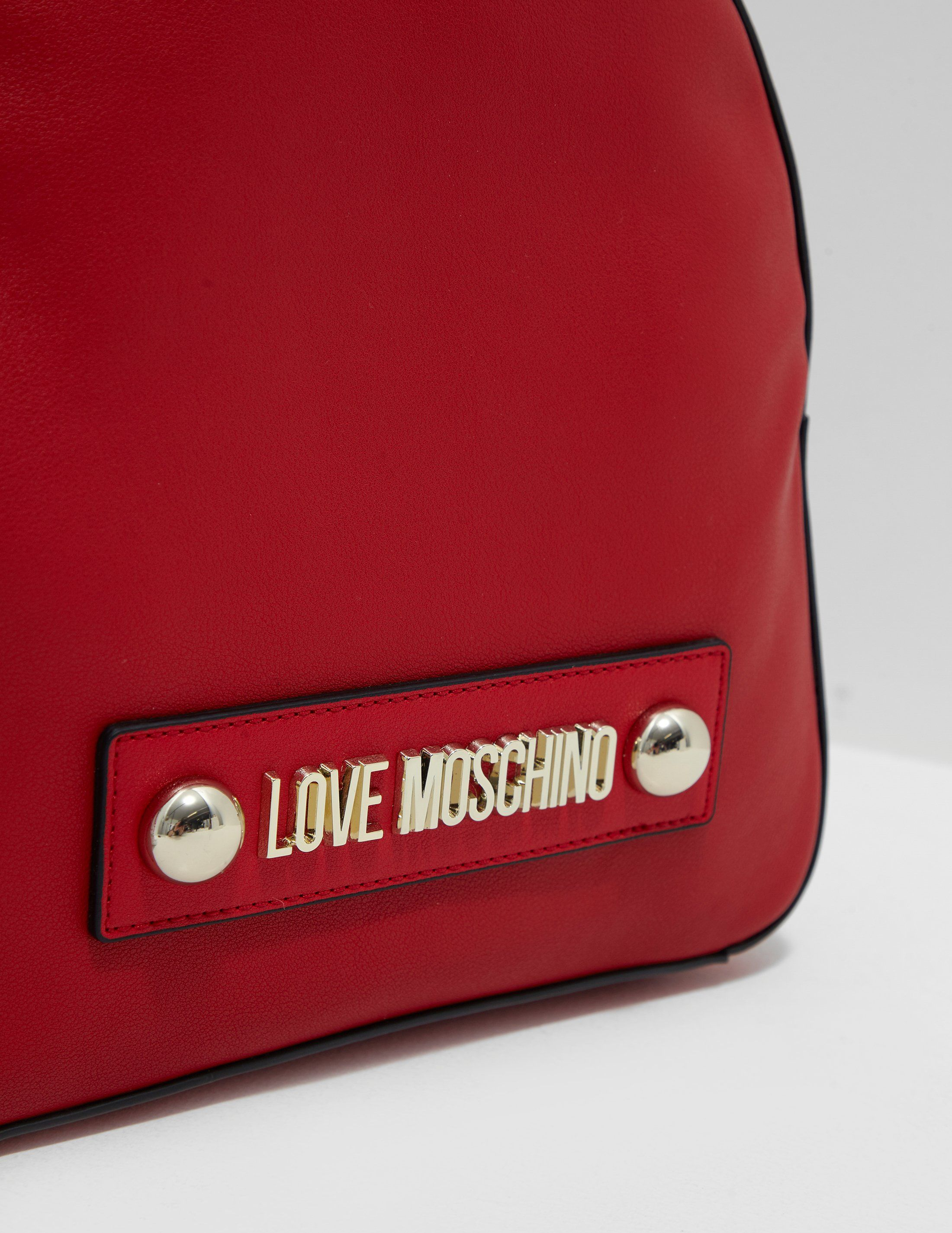 Love Moschino Stud Scarf Backpack