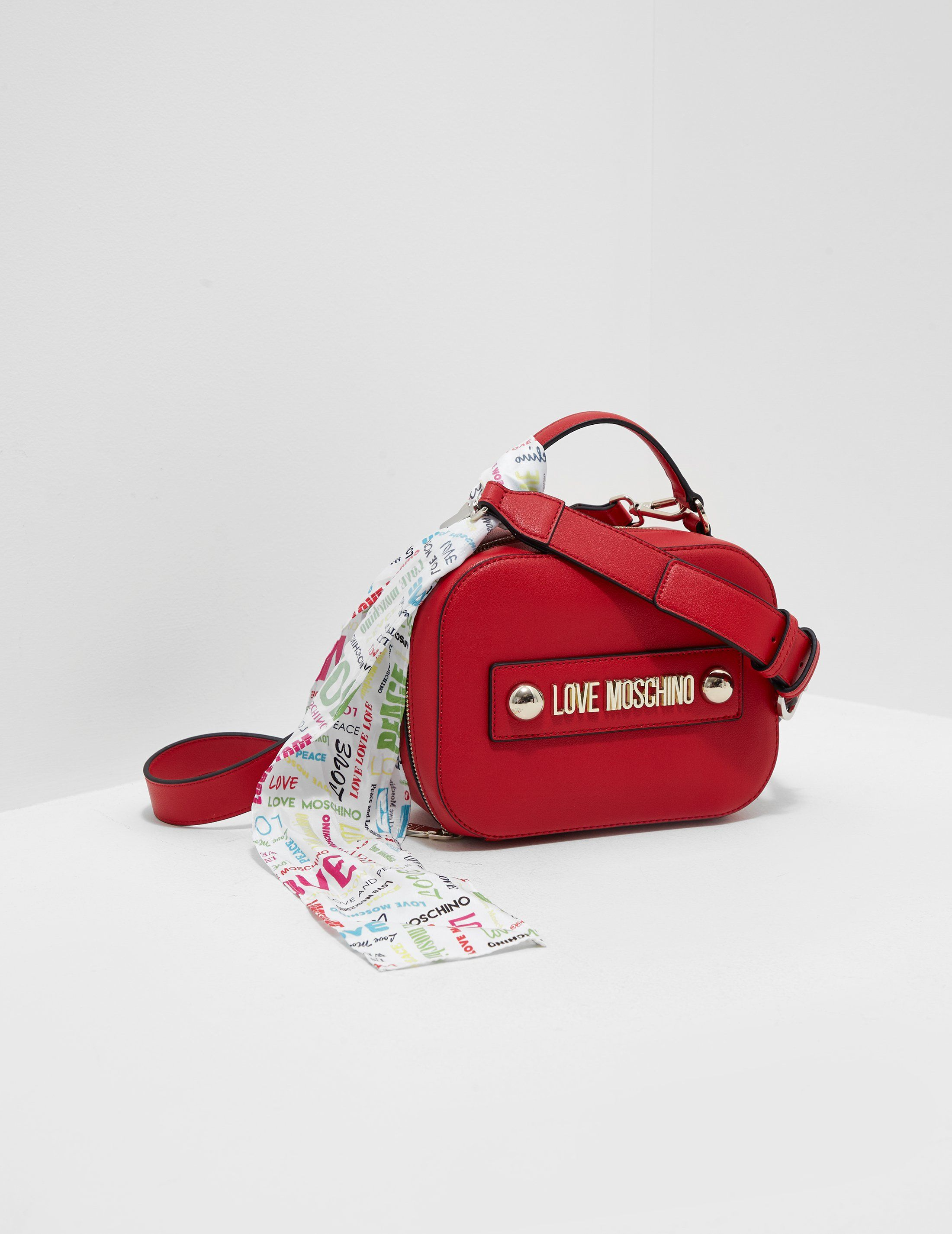 Love Moschino Stud Scarf Small Bag