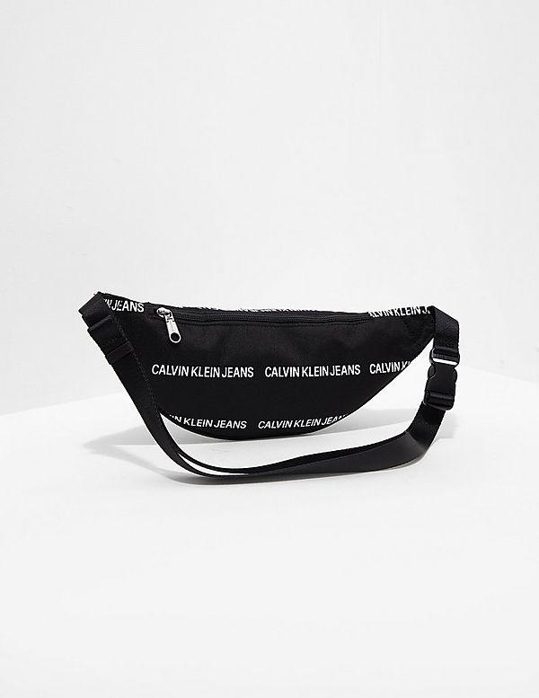 3d7fc6bf3638bf Calvin Klein All Over Logo Bum Bag