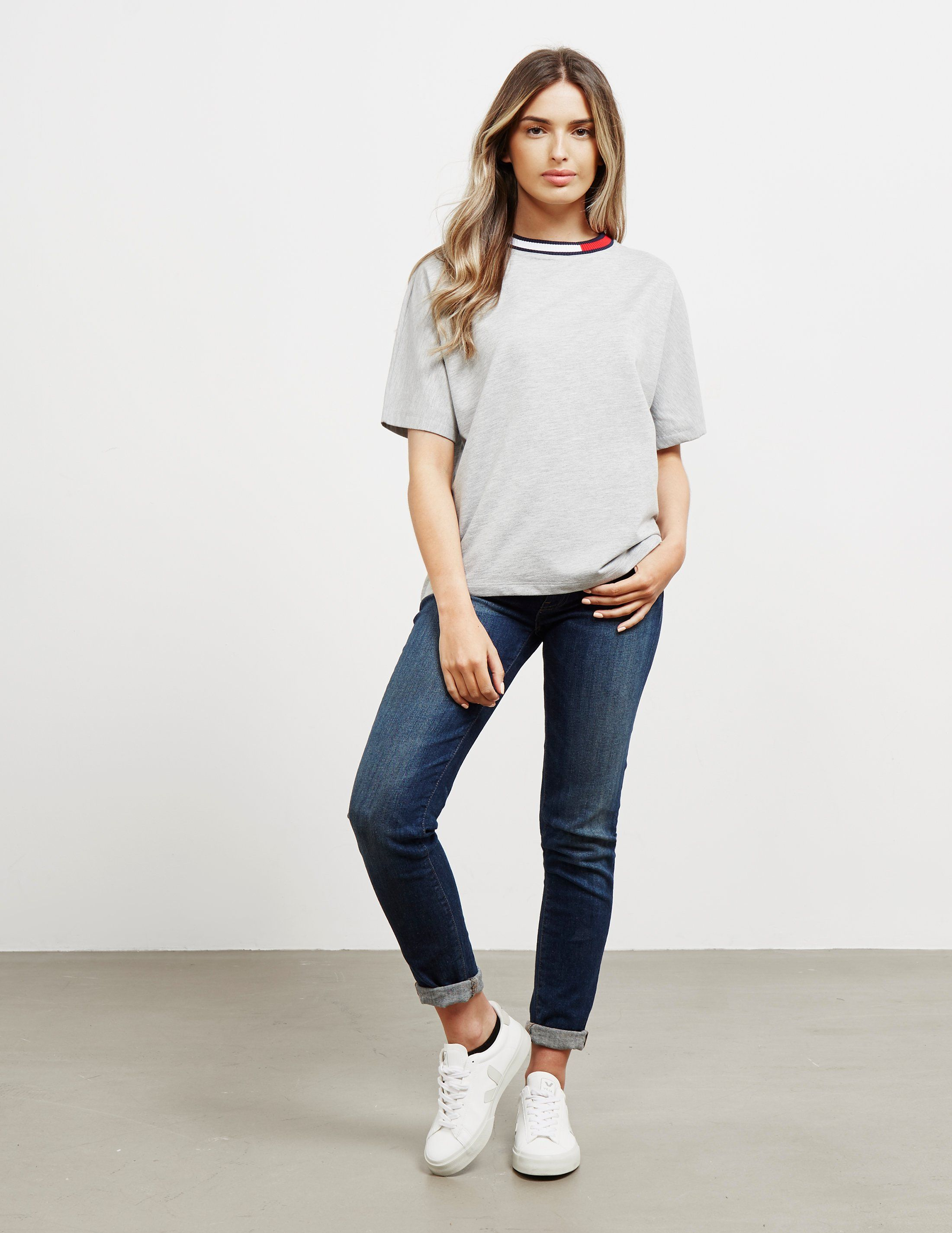 Tommy Hilfiger Flag Short Sleeve T-Shirt