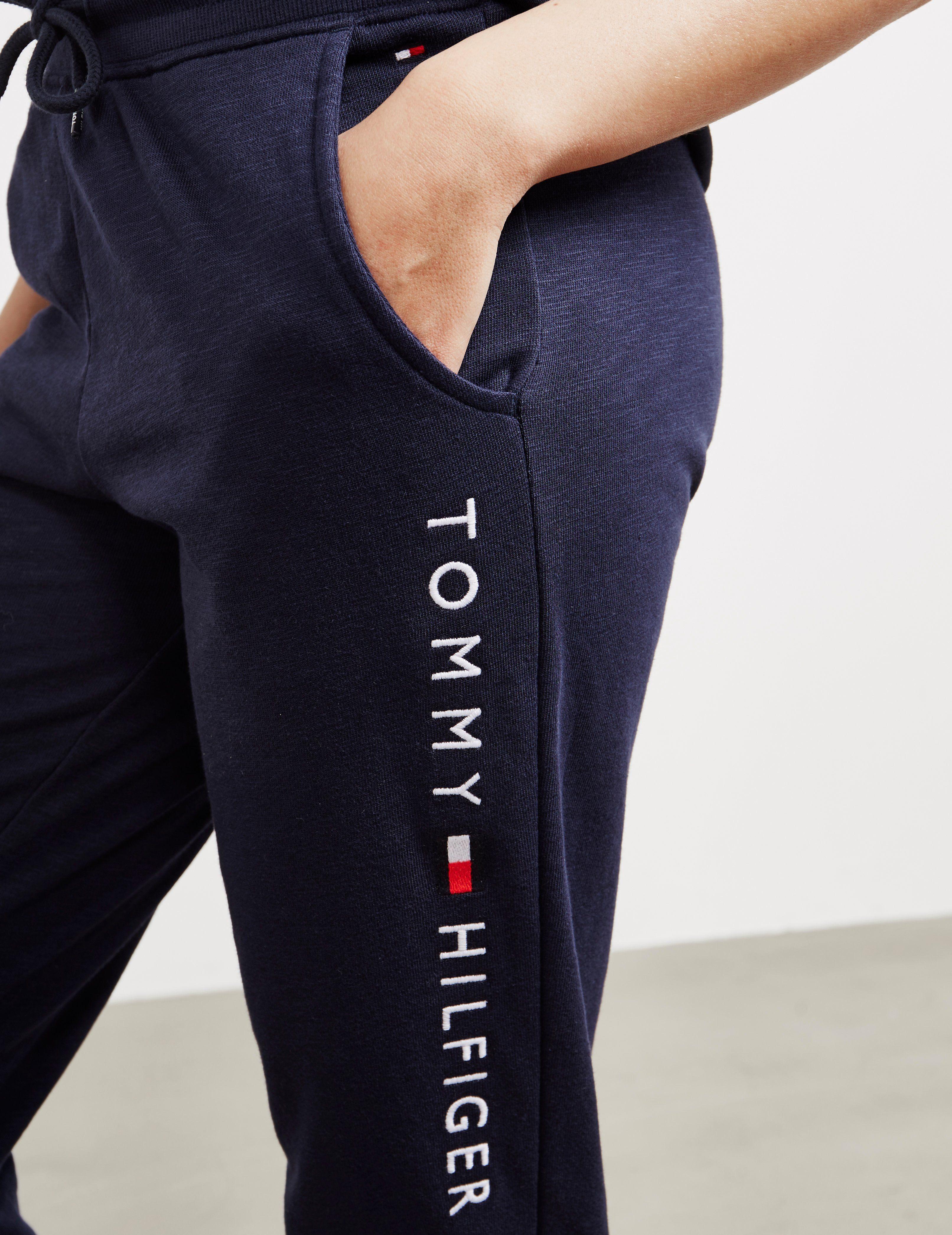 Tommy Hilfiger Underwear Logo Cuffed Track Pants