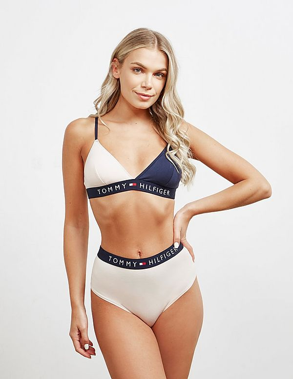 Tommy Hilfiger Colour Block Triangle Bralette