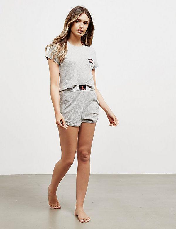 Calvin Klein Underwear Pocket Crop Short Sleeve T-Shirt