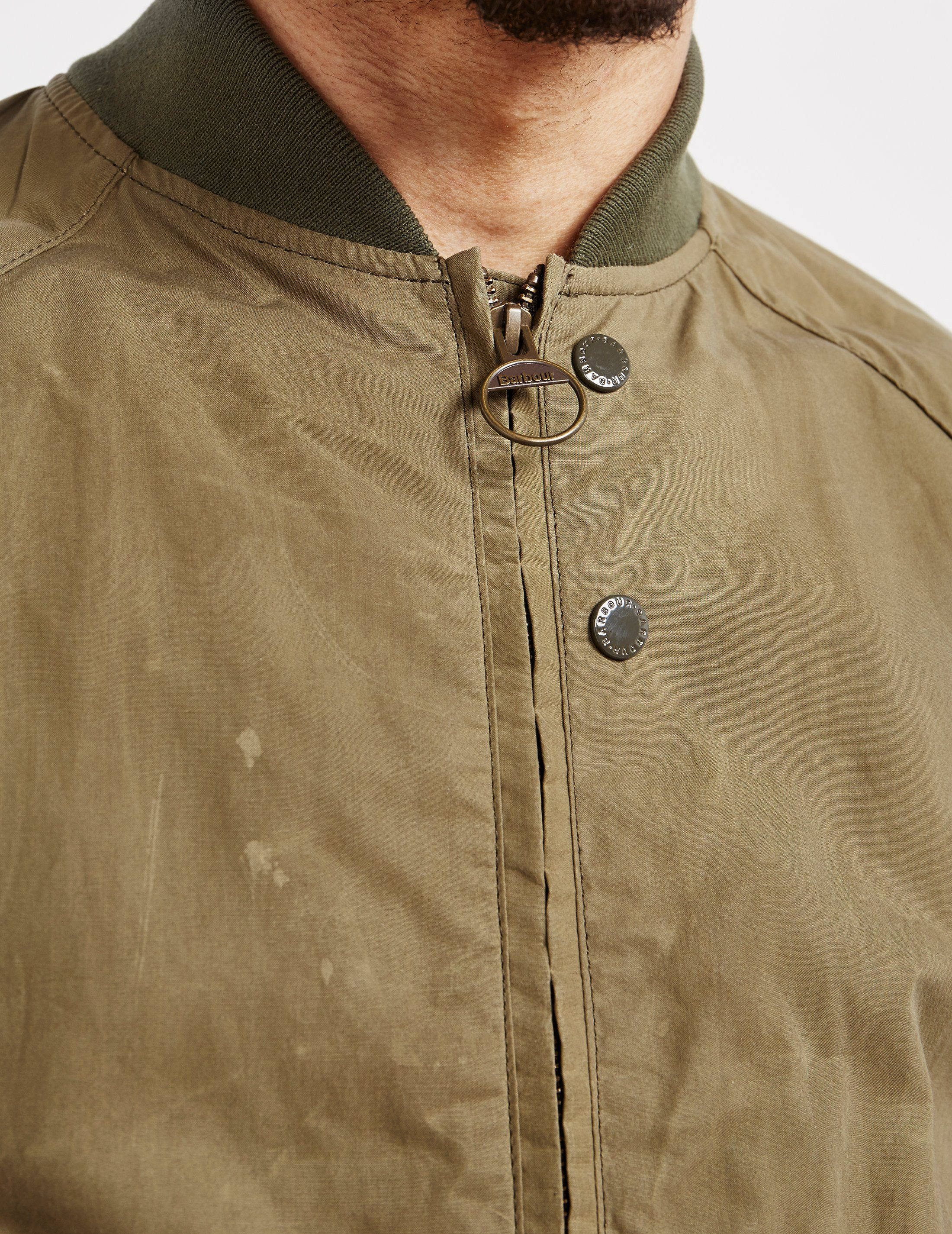 Barbour x Engineered Garments Irving Bomber Jacket