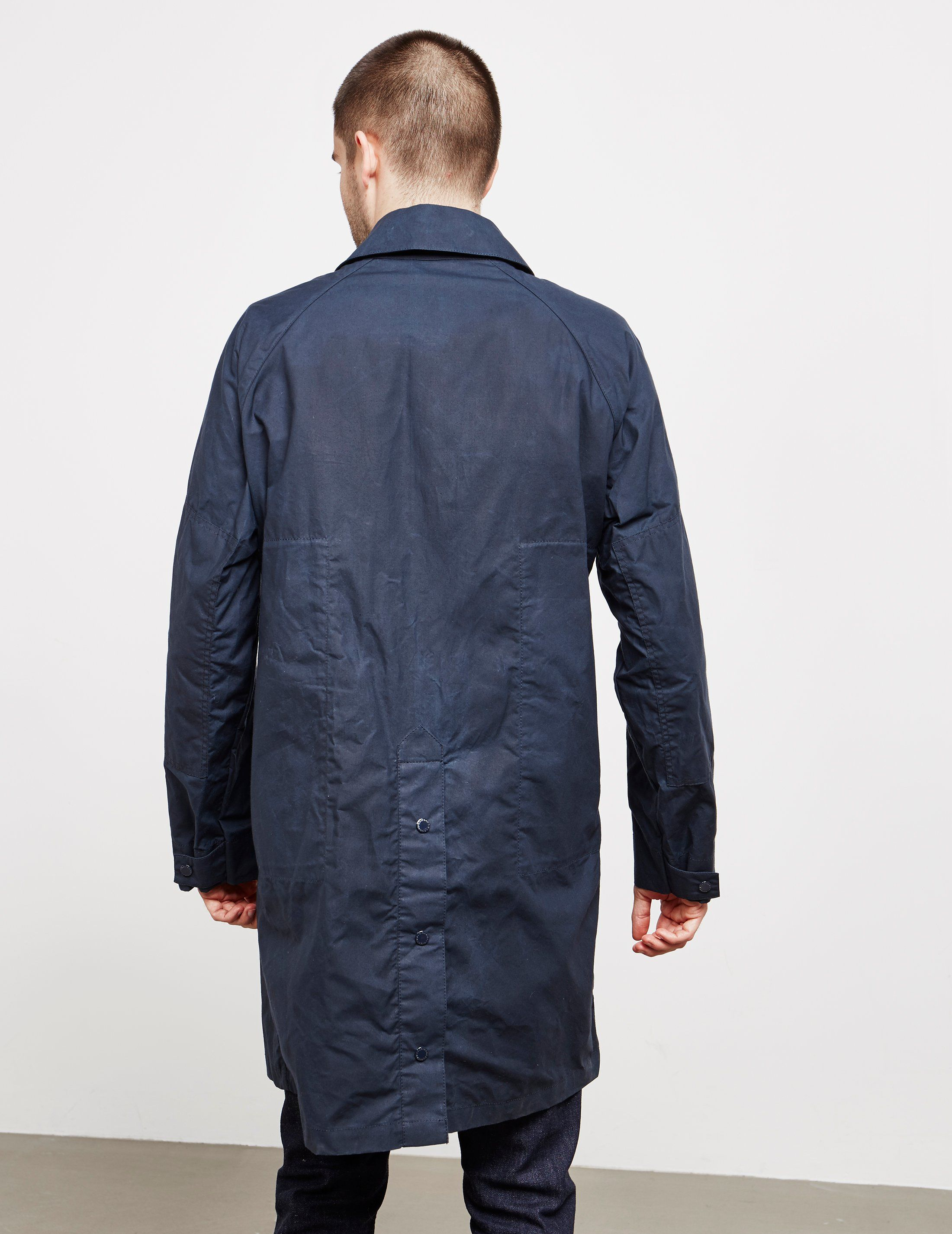 Barbour x Engineered Garments South Overcoat