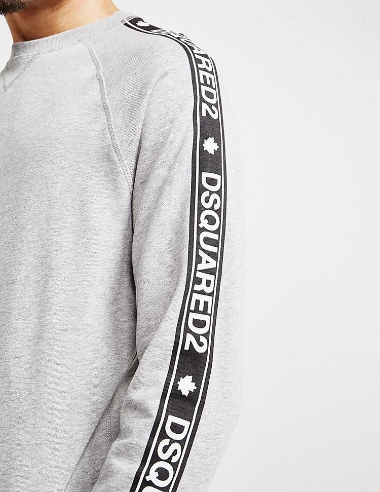 Dsquared2 Tape Sleeve Sweatshirt