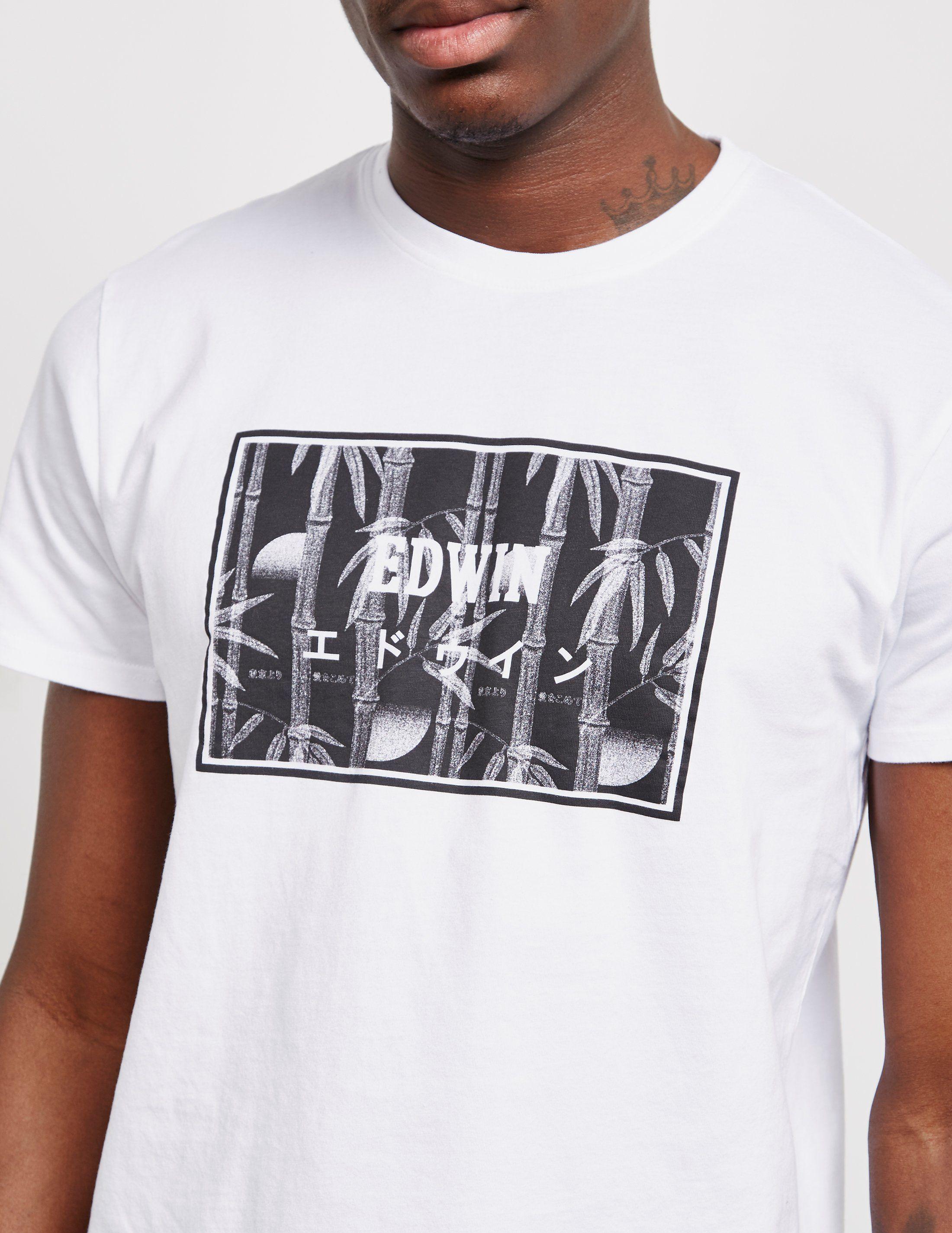 Edwin Bamboo Short Sleeve T-Shirt