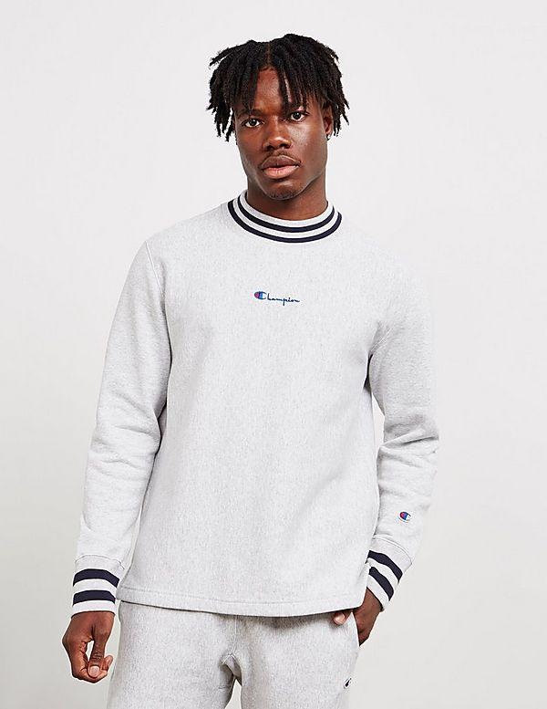 Champion High Neck Long Sleeve T-Shirt