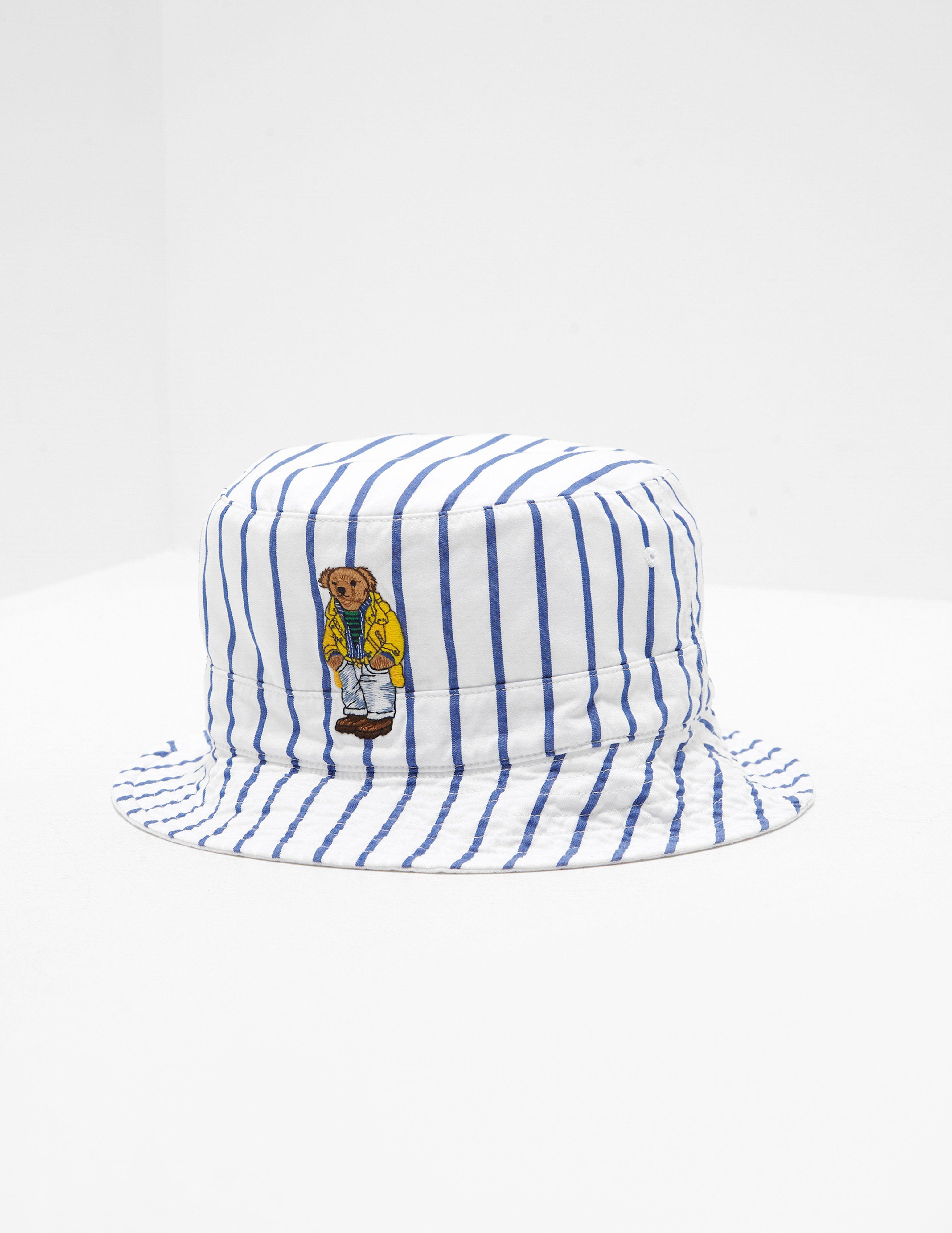 Polo Ralph Lauren Bear Reversible Bucket Hat