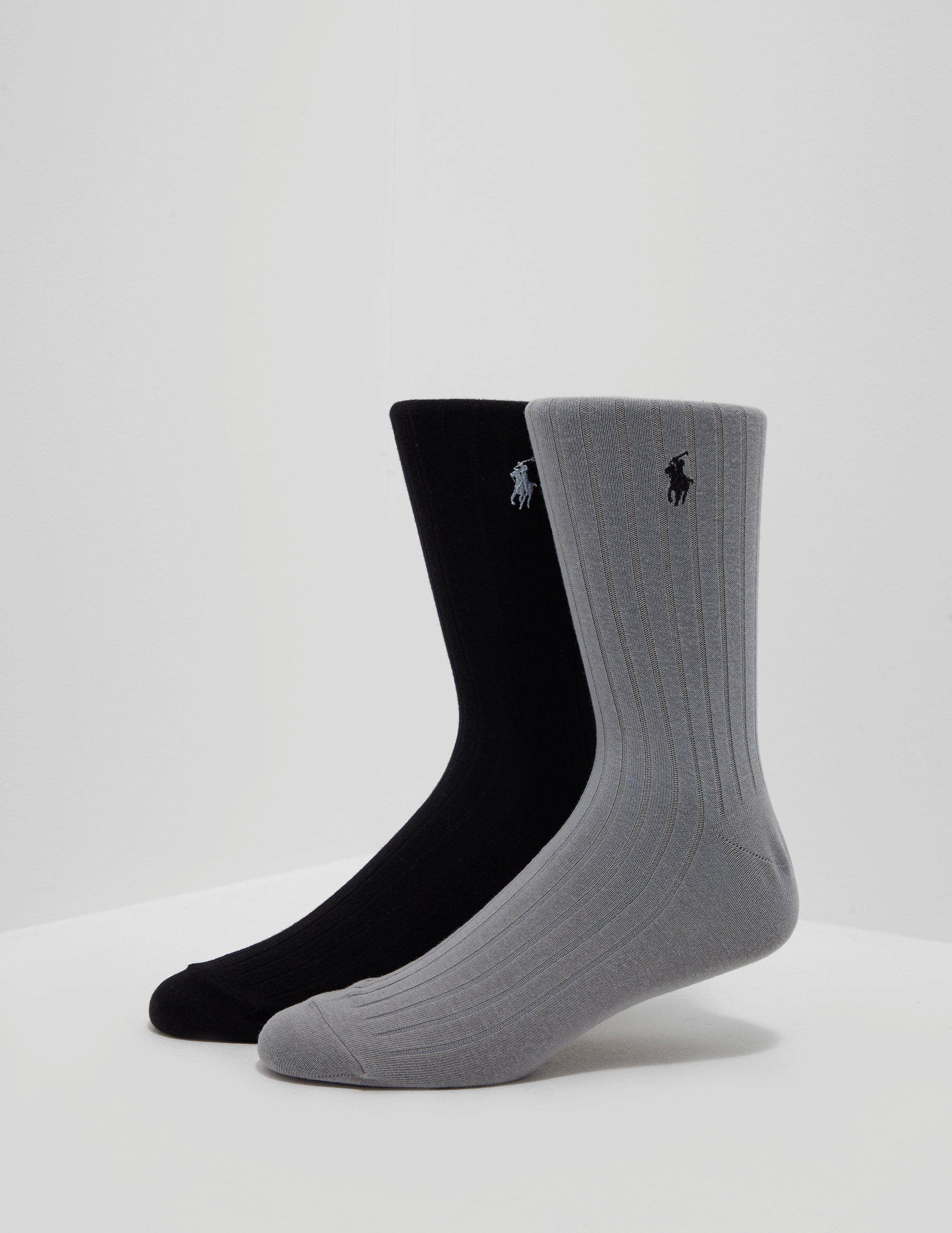 Polo Ralph Lauren 2-Pack Pony Socks