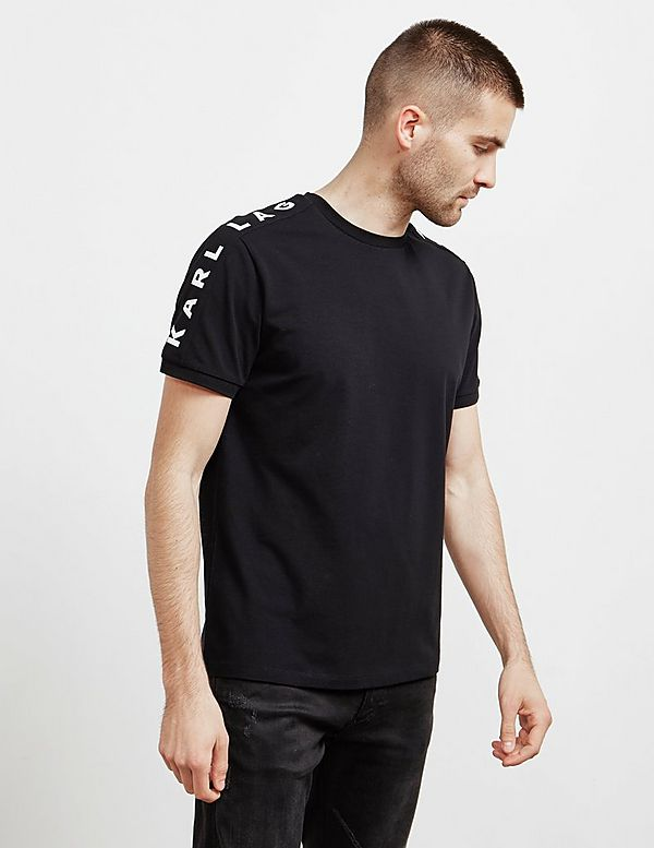 Karl Lagerfeld Shoulder Short Sleeve T-Shirt