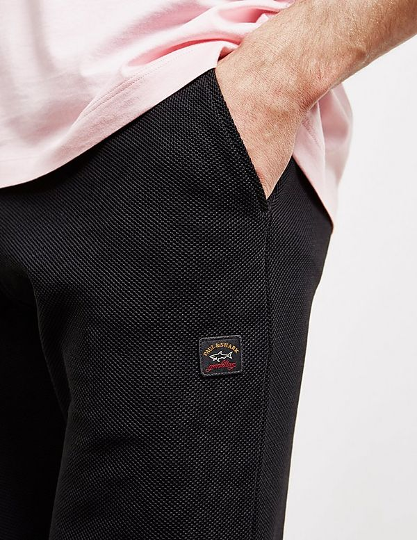 Paul and Shark Pique Cuffed Fleece Pants - Exclusive