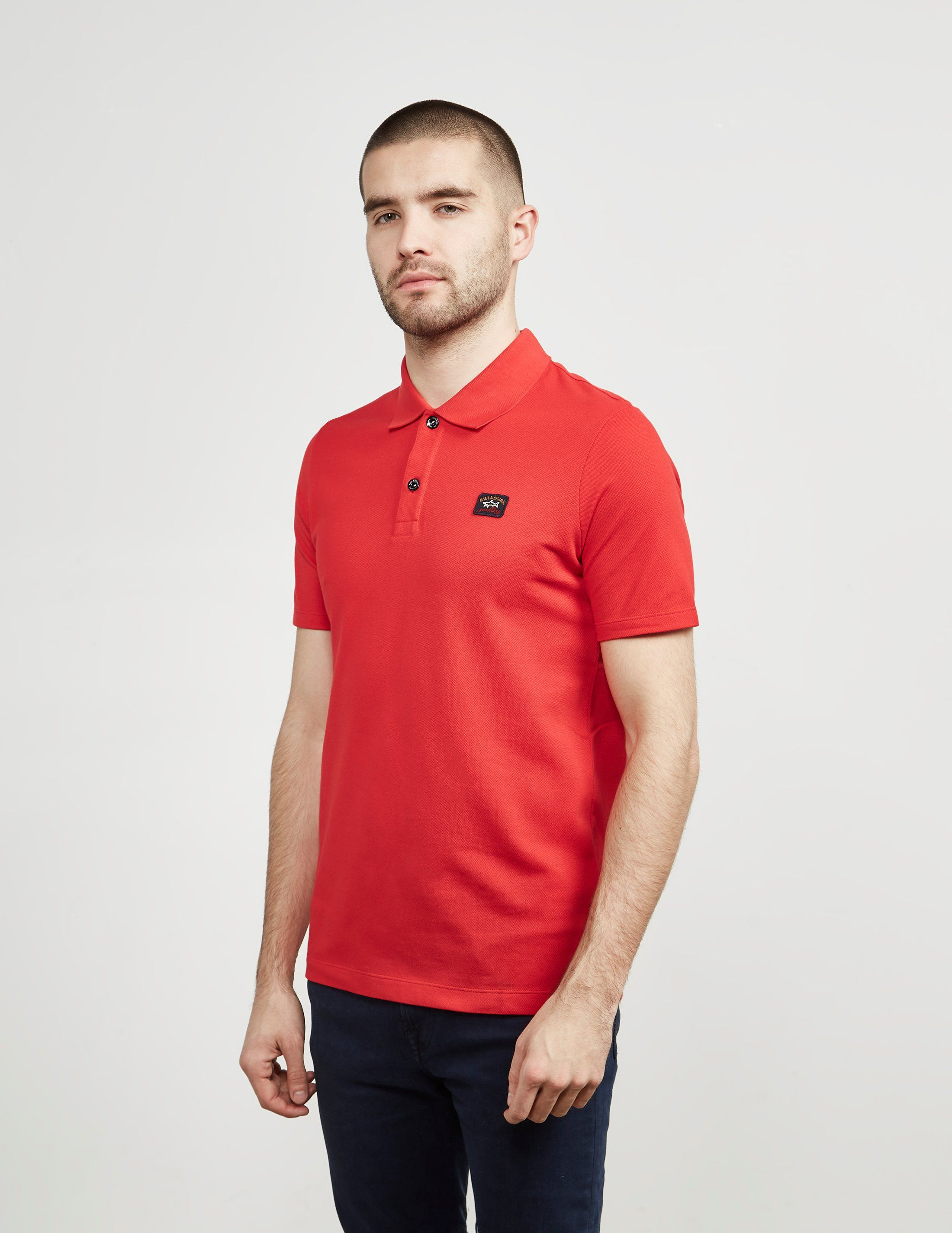 Paul and Shark Core Short Sleeve Polo Shirt