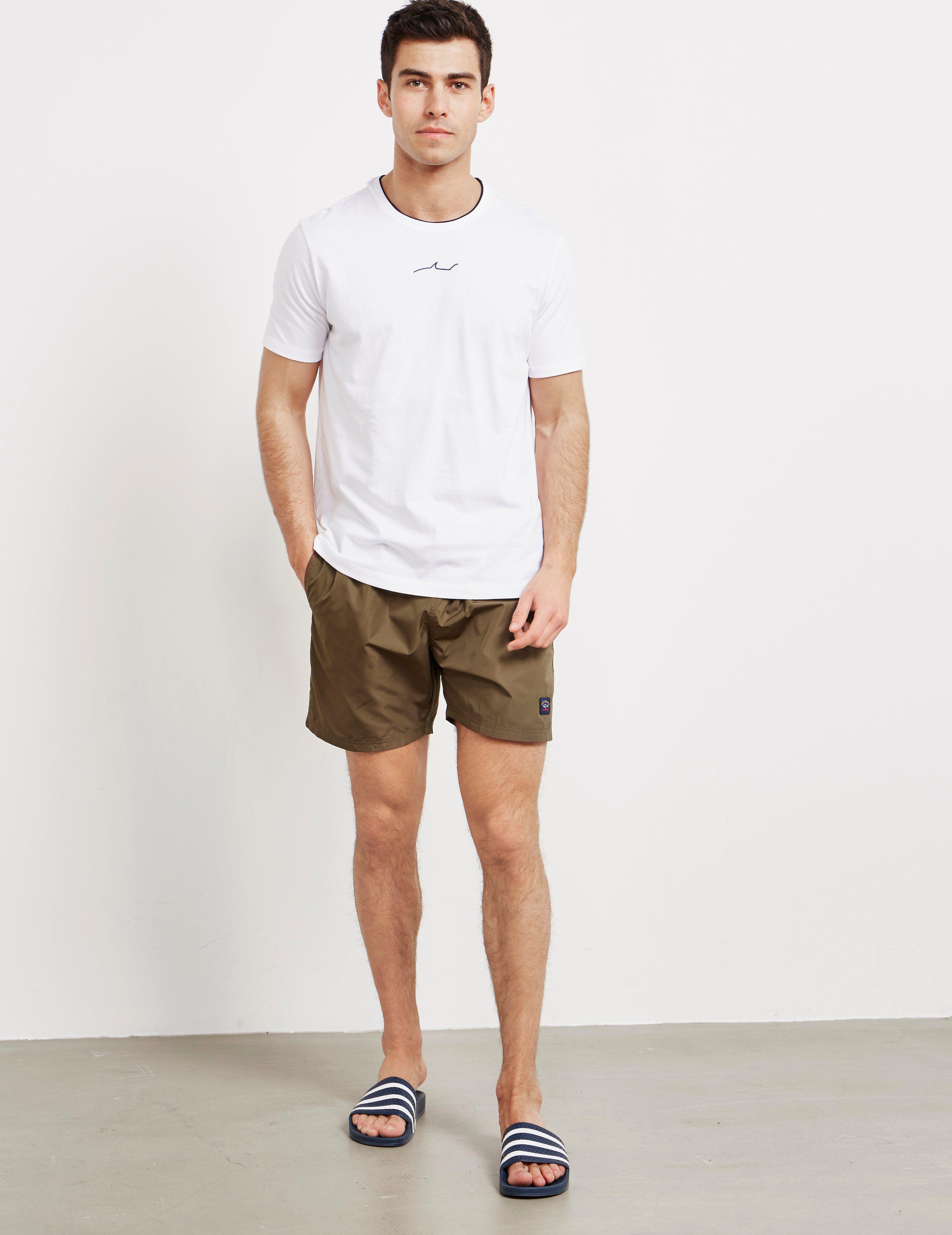 Paul and Shark Centre Half Shark Short Sleeve T-Shirt