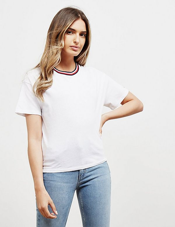 Tommy Jeans Back Detail Short Sleeve T-Shirt