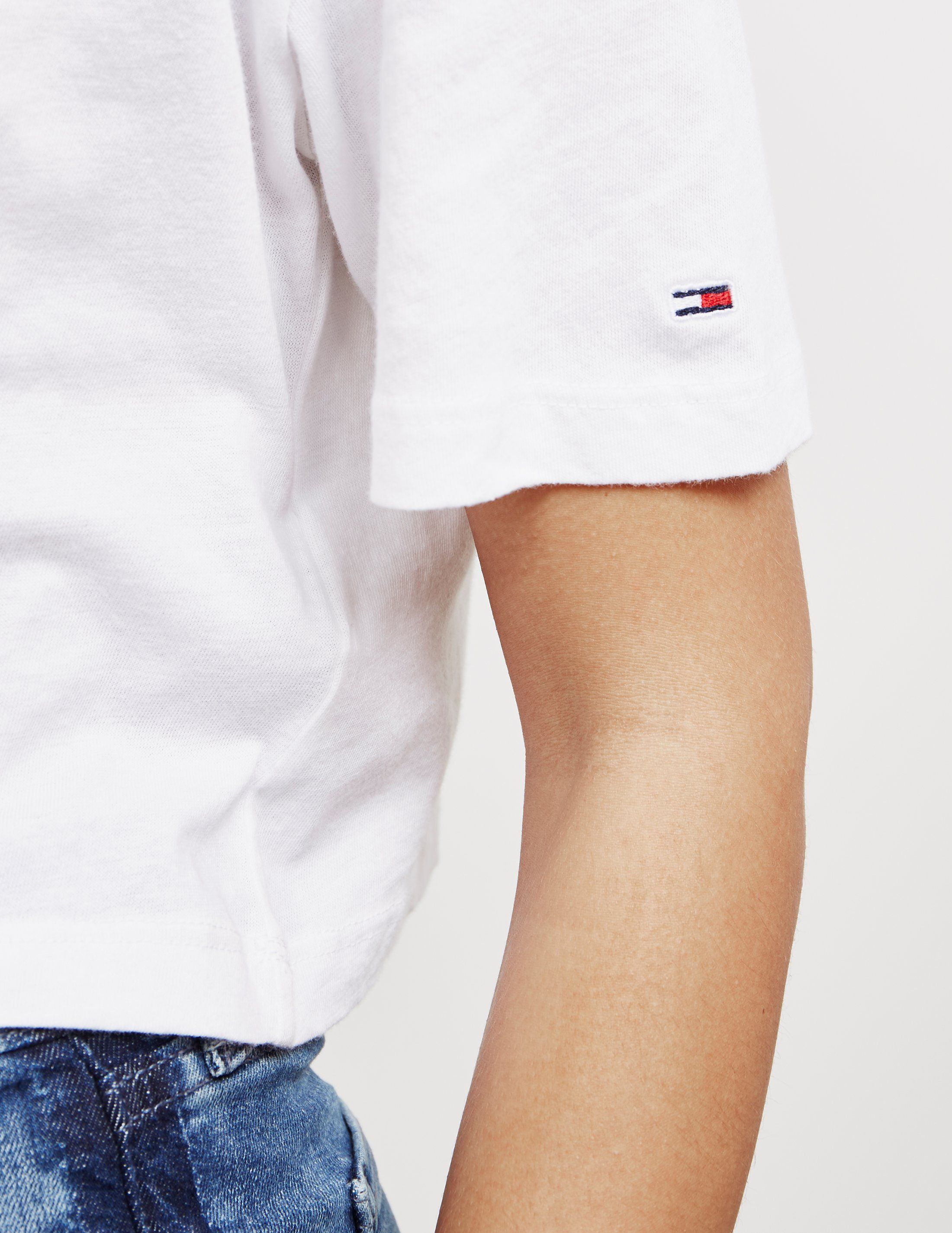 Tommy Hilfiger Tommy Crop Short Sleeve T-Shirt