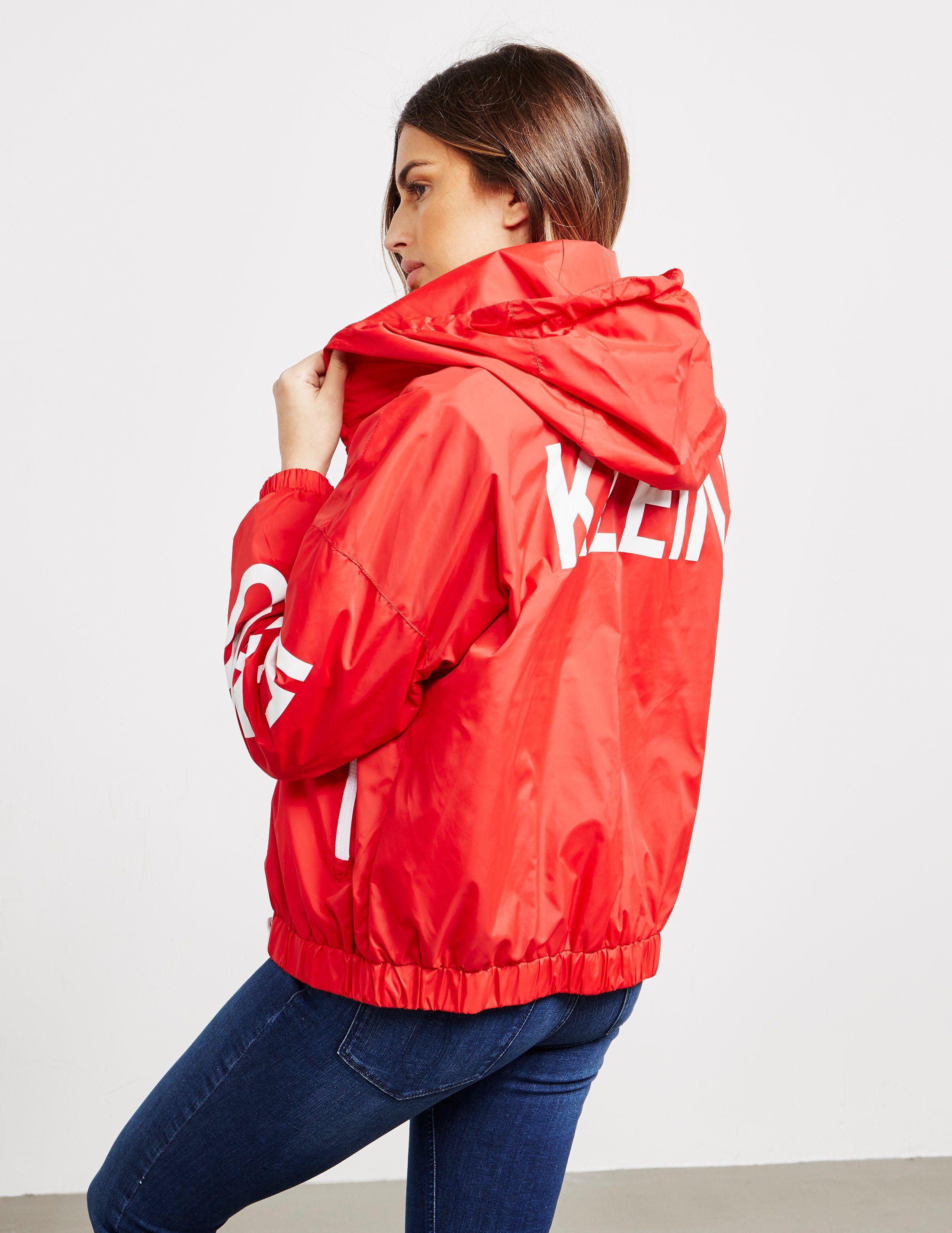 Calvin Klein Jeans Logo Windbreaker Jacket