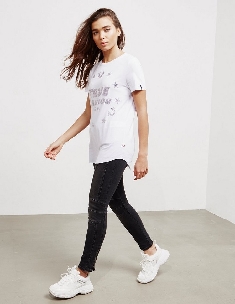 True Religion Star Logo Short Sleeve T-Shirt