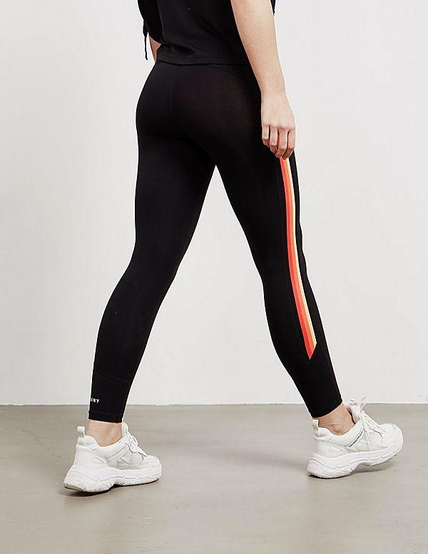 5494f723c7bb2 DKNY Colour Stripe Leggings | Tessuti