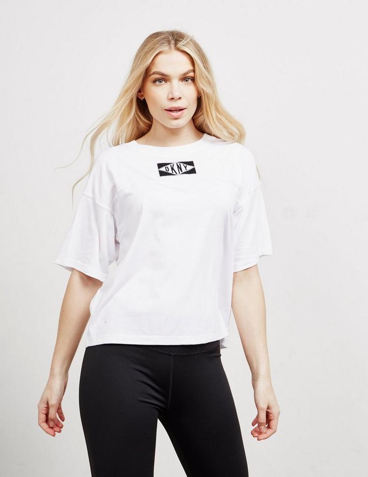 DKNY Logo Patch Short Sleeve T-Shirt