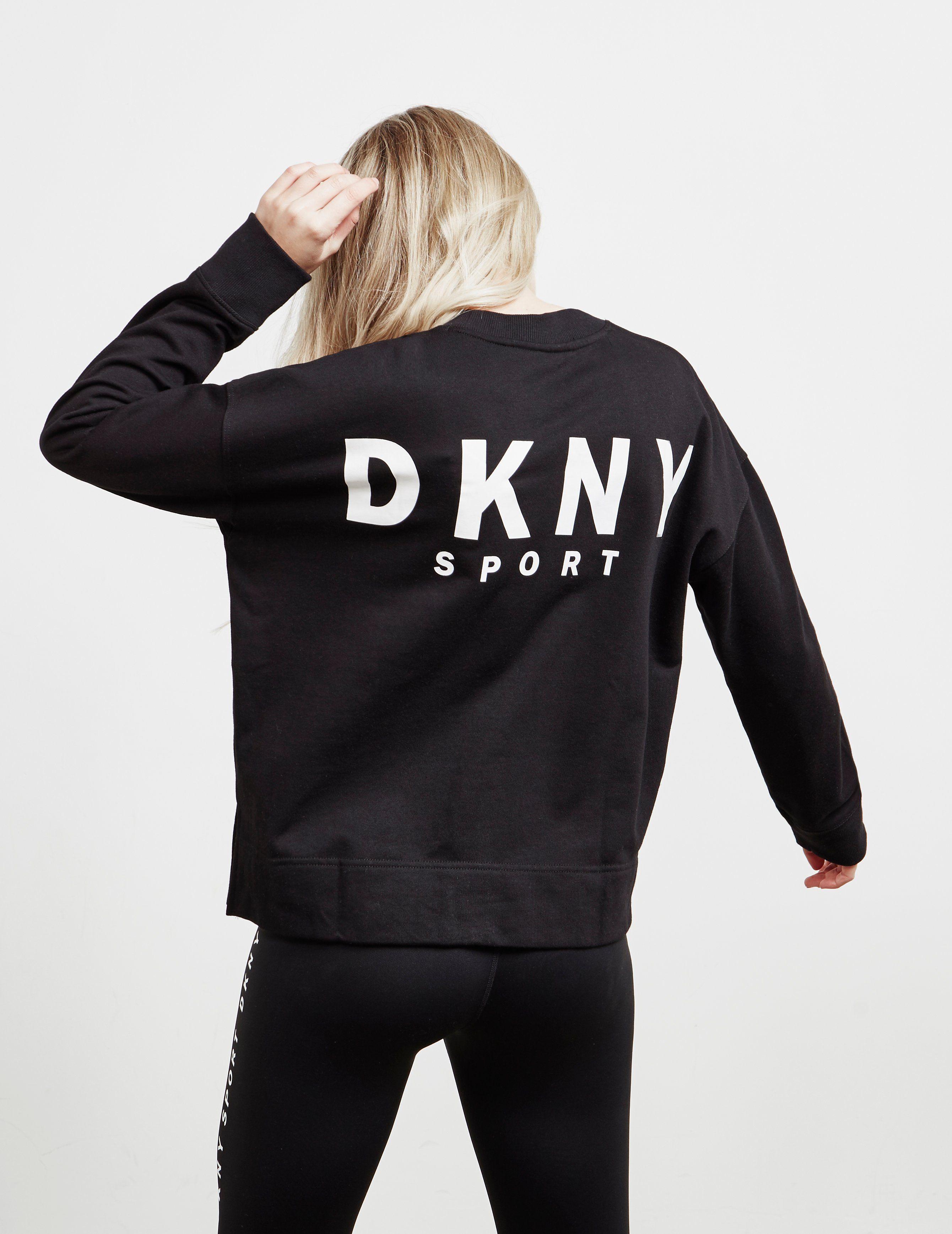 DKNY Logo Patch Sweatshirt