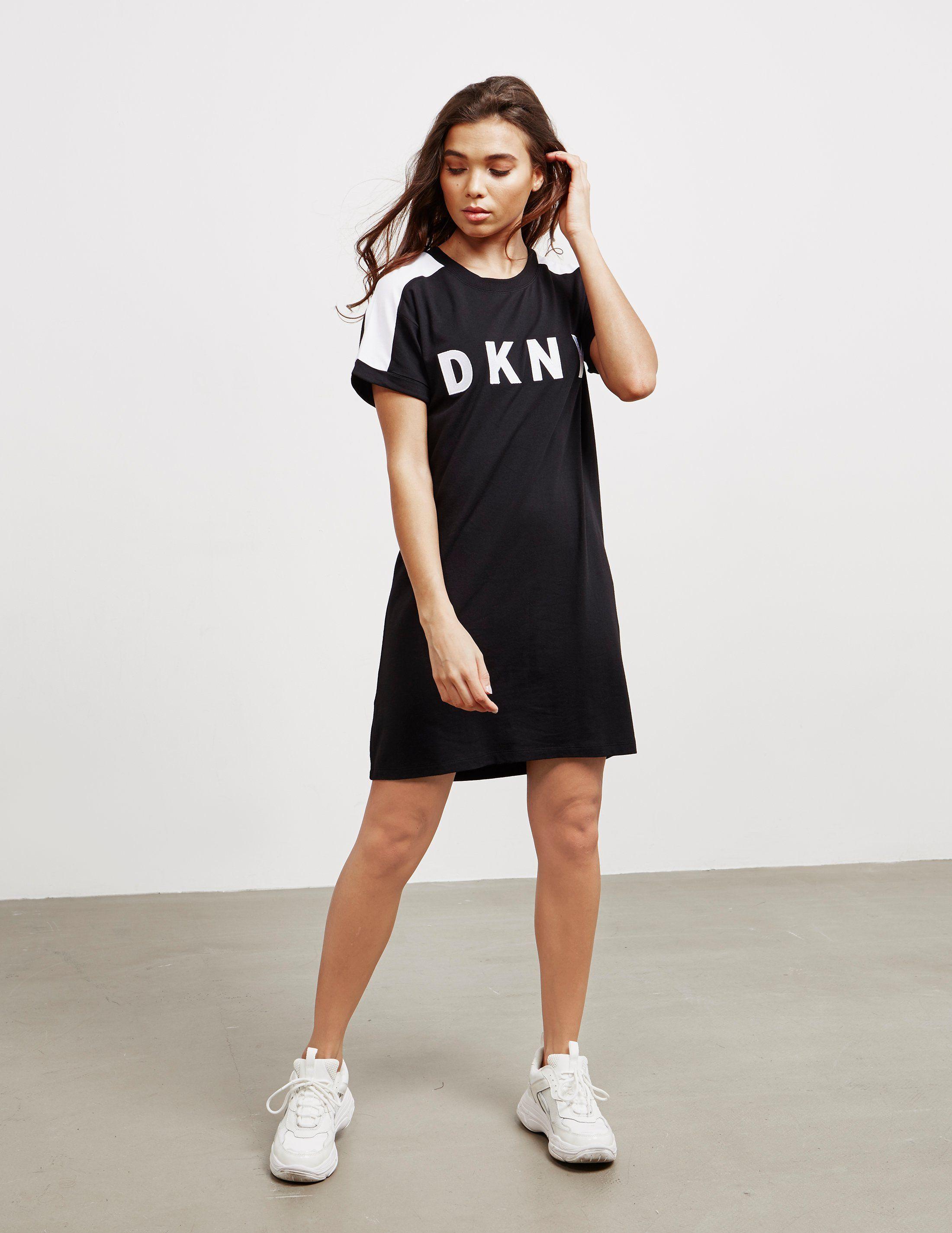 DKNY Shadow Logo Dress
