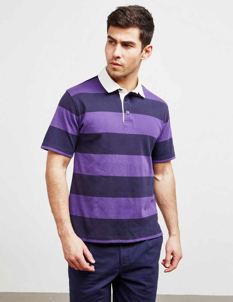 Armor Lux Rugby Short Sleeve Polo Shirt