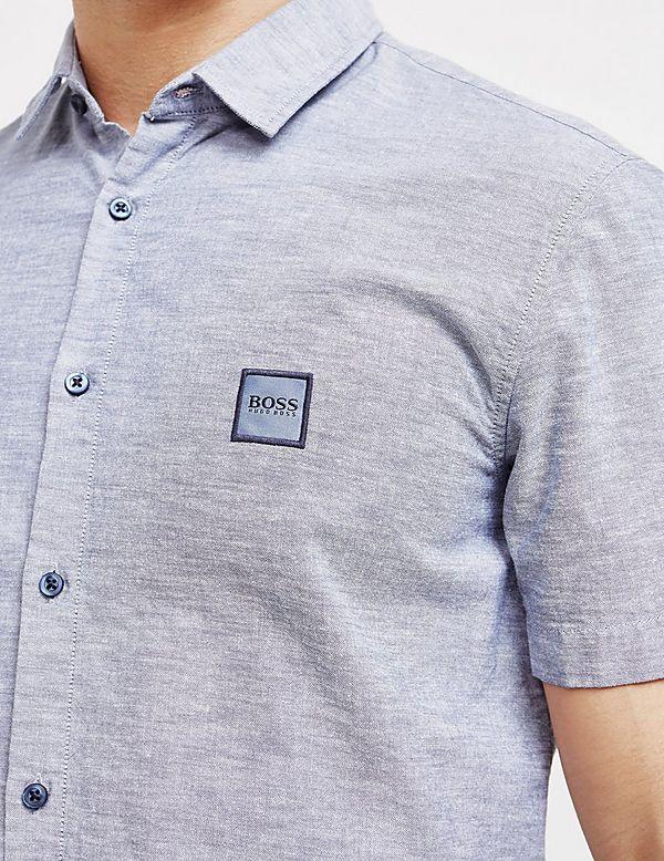 047994ea2 BOSS Magneton Short Sleeve Shirt | Tessuti