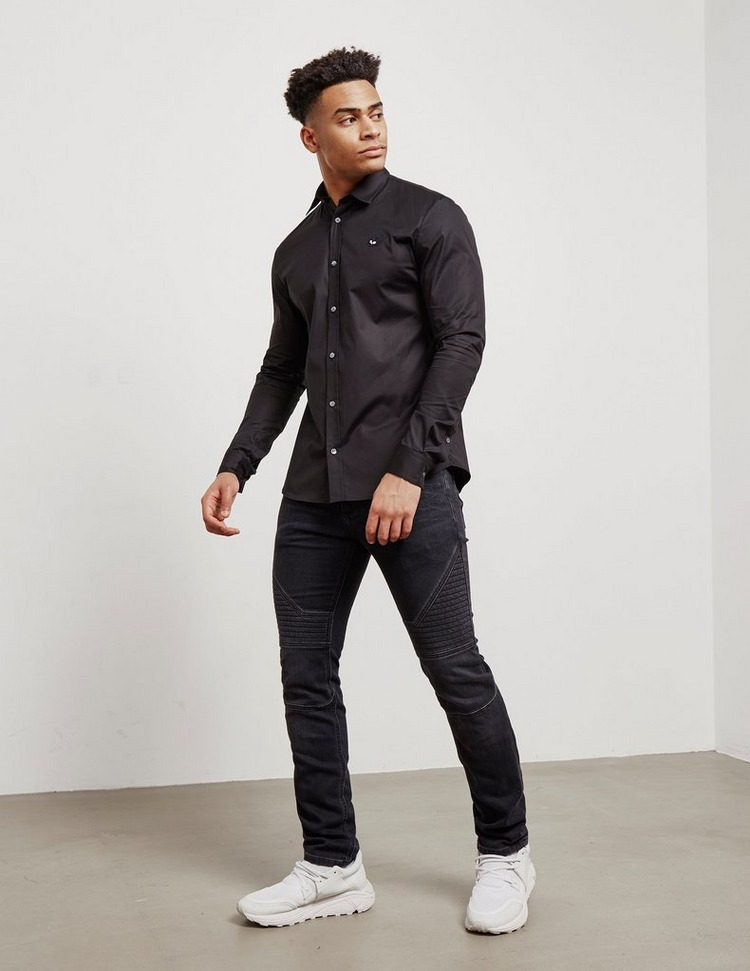 McQ Alexander McQueen Swallow Long Sleeve Shirt