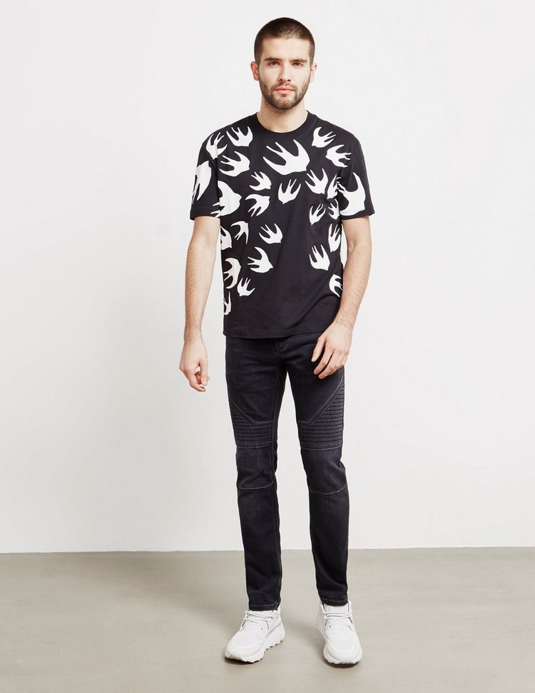 McQ Alexander McQueen Swallow Short Sleeve T-Shirt