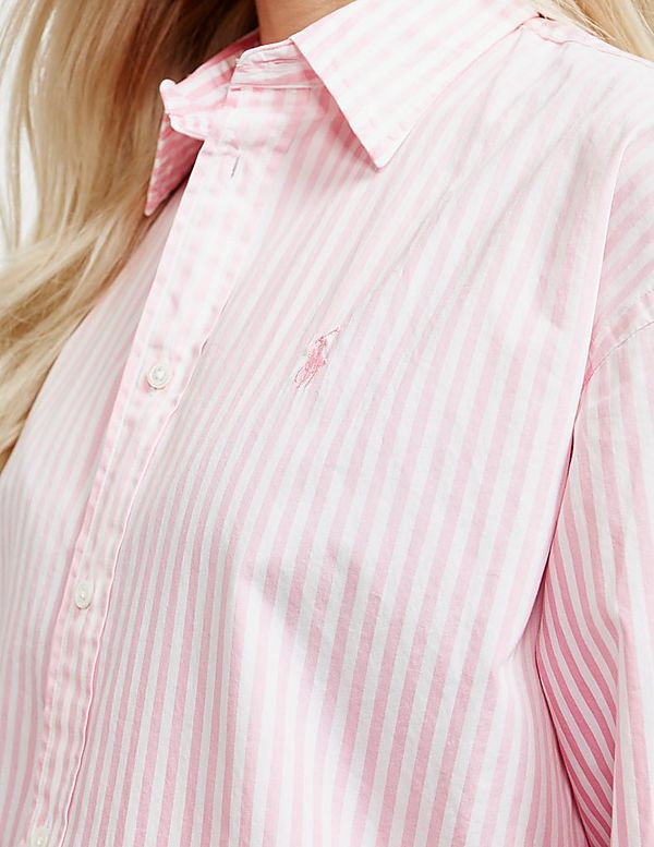 a87a293823 Polo Ralph Lauren Ellen Stripe Long Sleeve Shirt | Tessuti