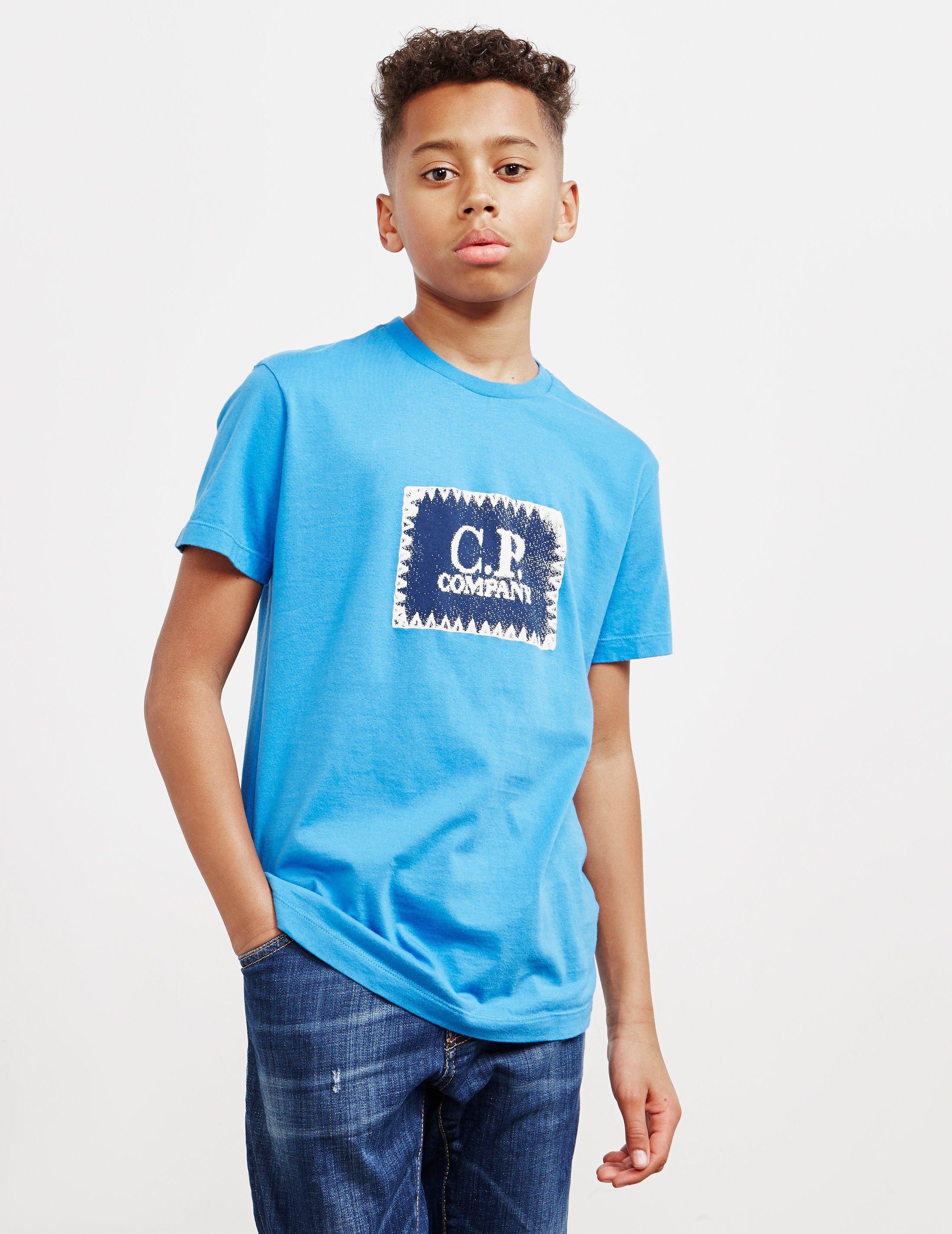 CP Company Tab Logo Short Sleeve T-Shirt