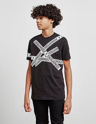 Dsquared2 Short Sleeve Tape T-Shirt