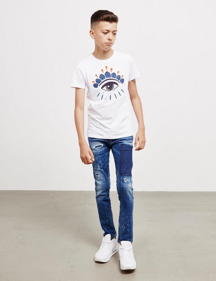 KENZO Eye Graphic Short Sleeve T-Shirt